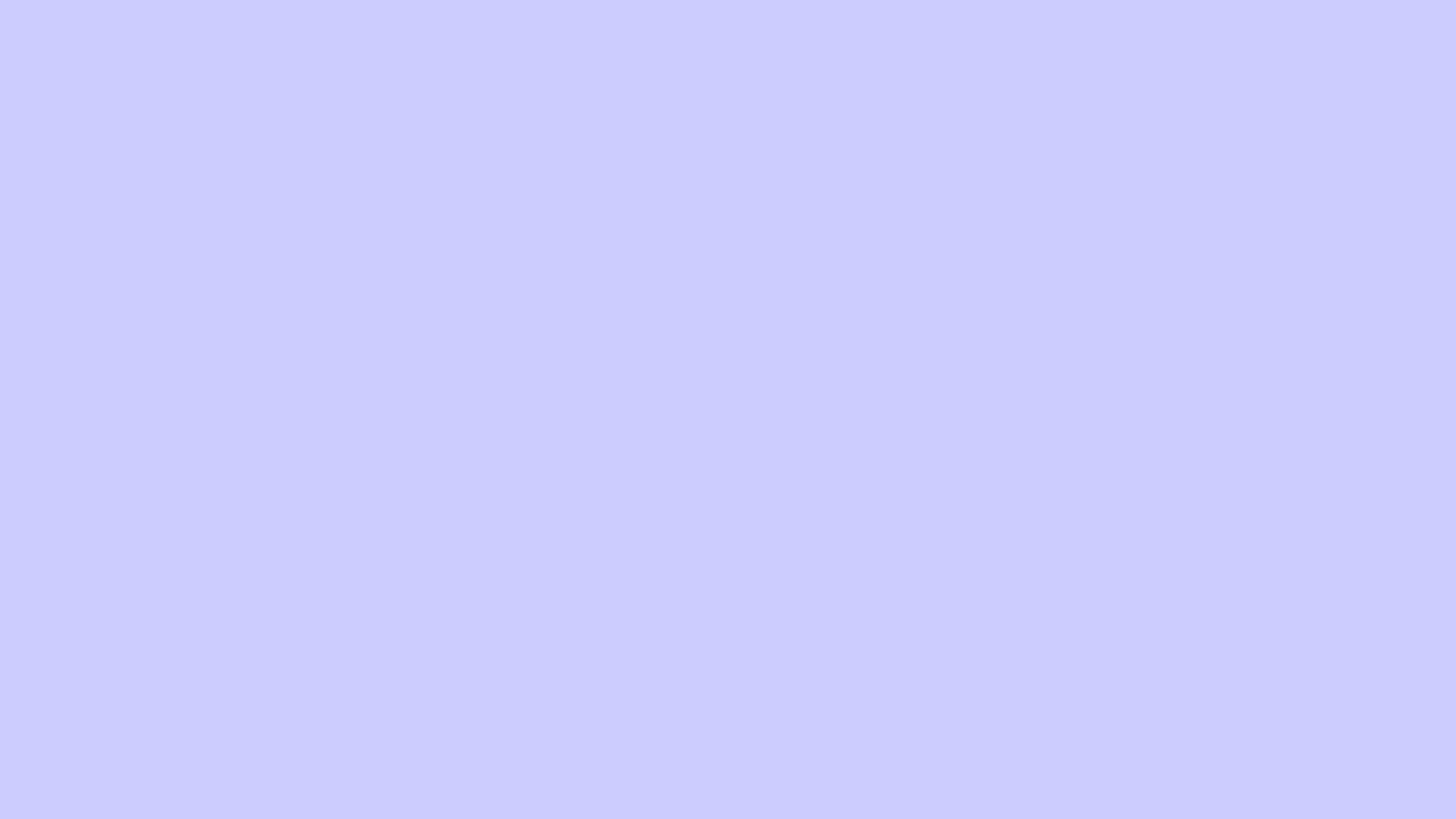 2560x1440 Lavender Blue Solid Color Background