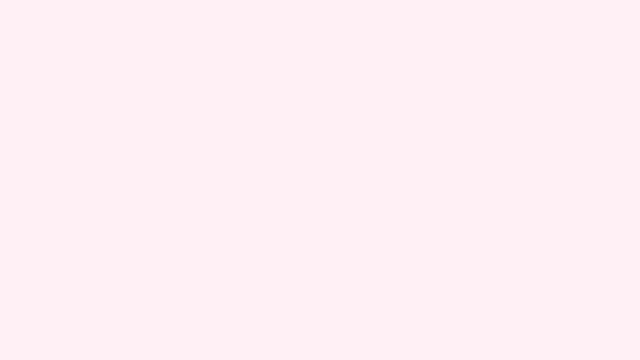 2560x1440 Lavender Blush Solid Color Background