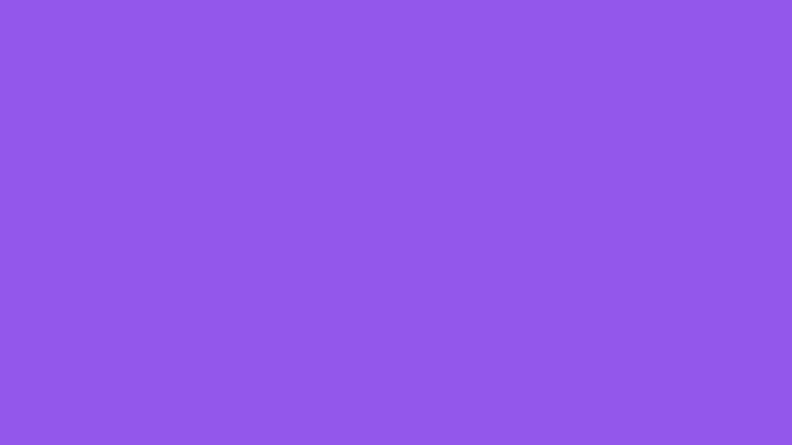 2560x1440 Lavender Indigo Solid Color Background