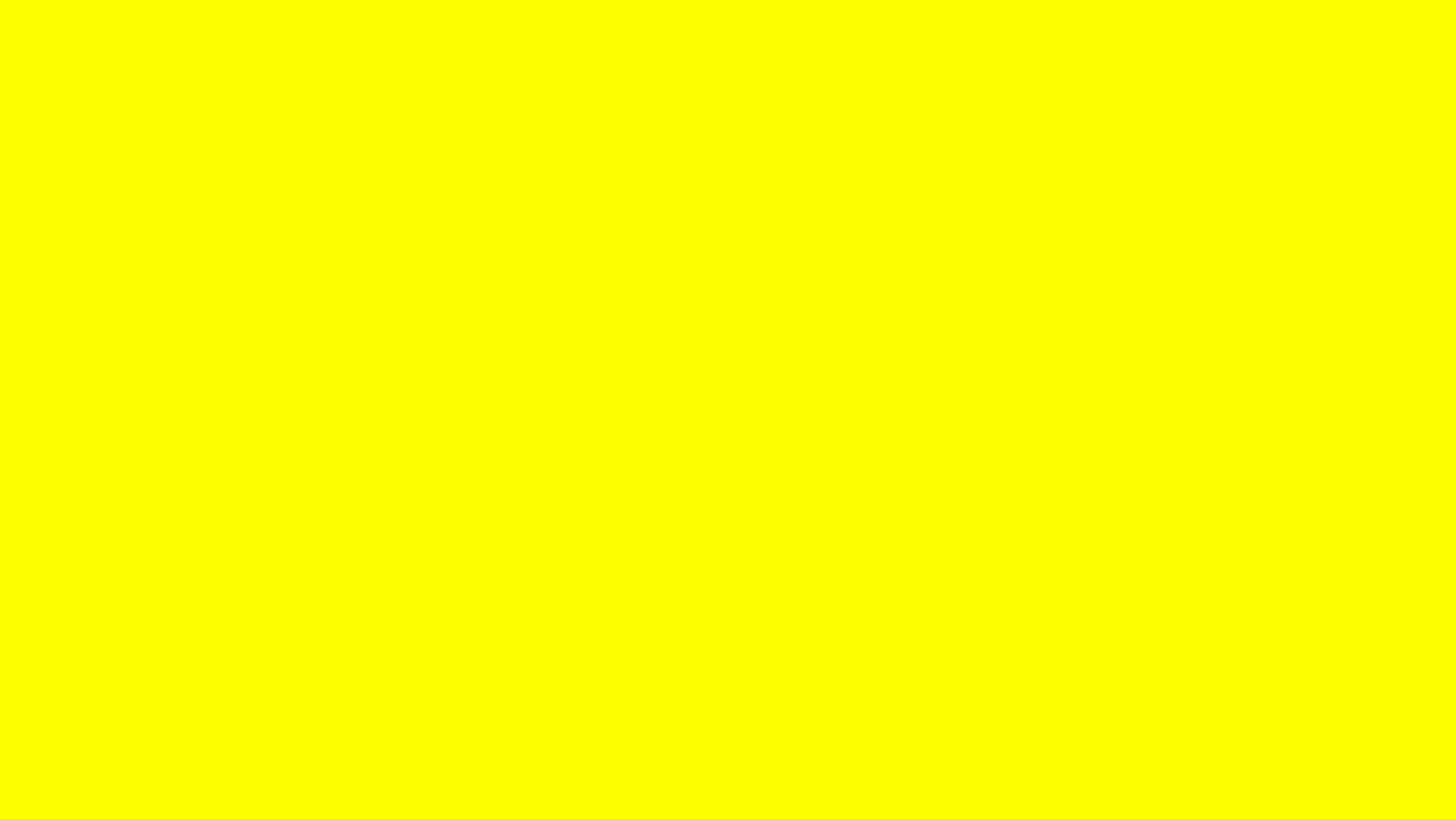 2560x1440 Lemon Glacier Solid Color Background