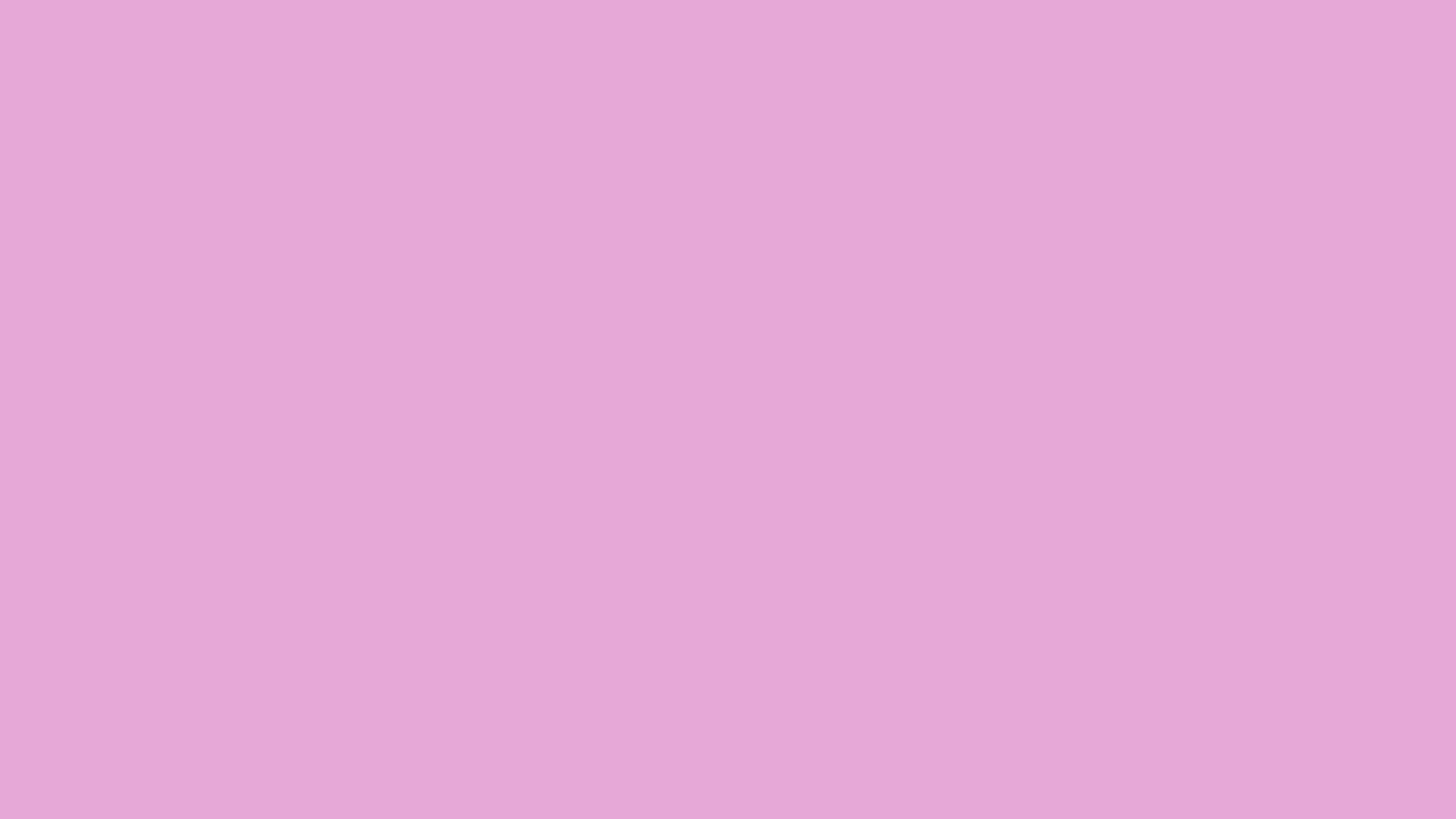2560x1440 Light Orchid Solid Color Background