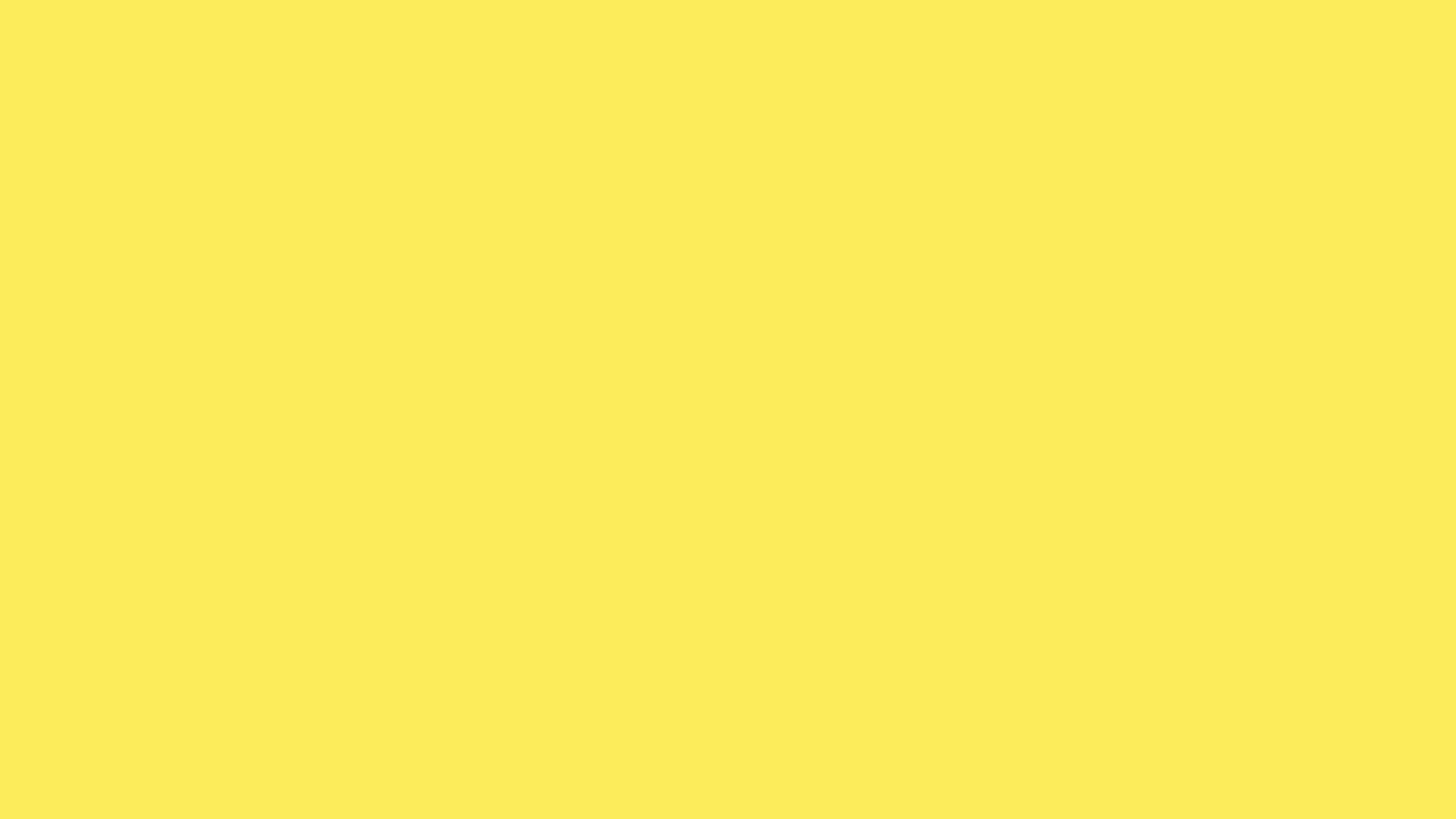 2560x1440 Maize Solid Color Background