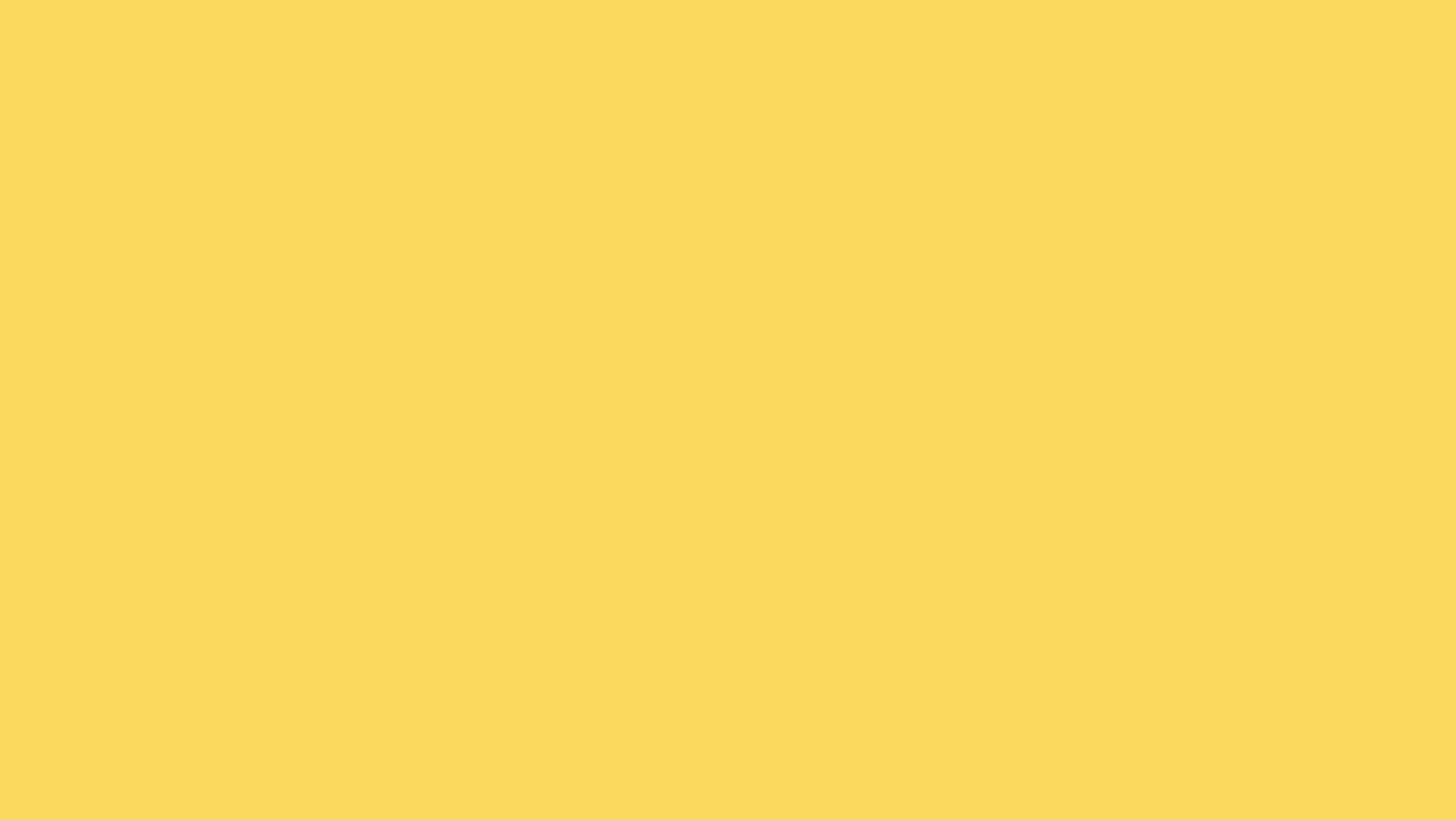 2560x1440 Naples Yellow Solid Color Background