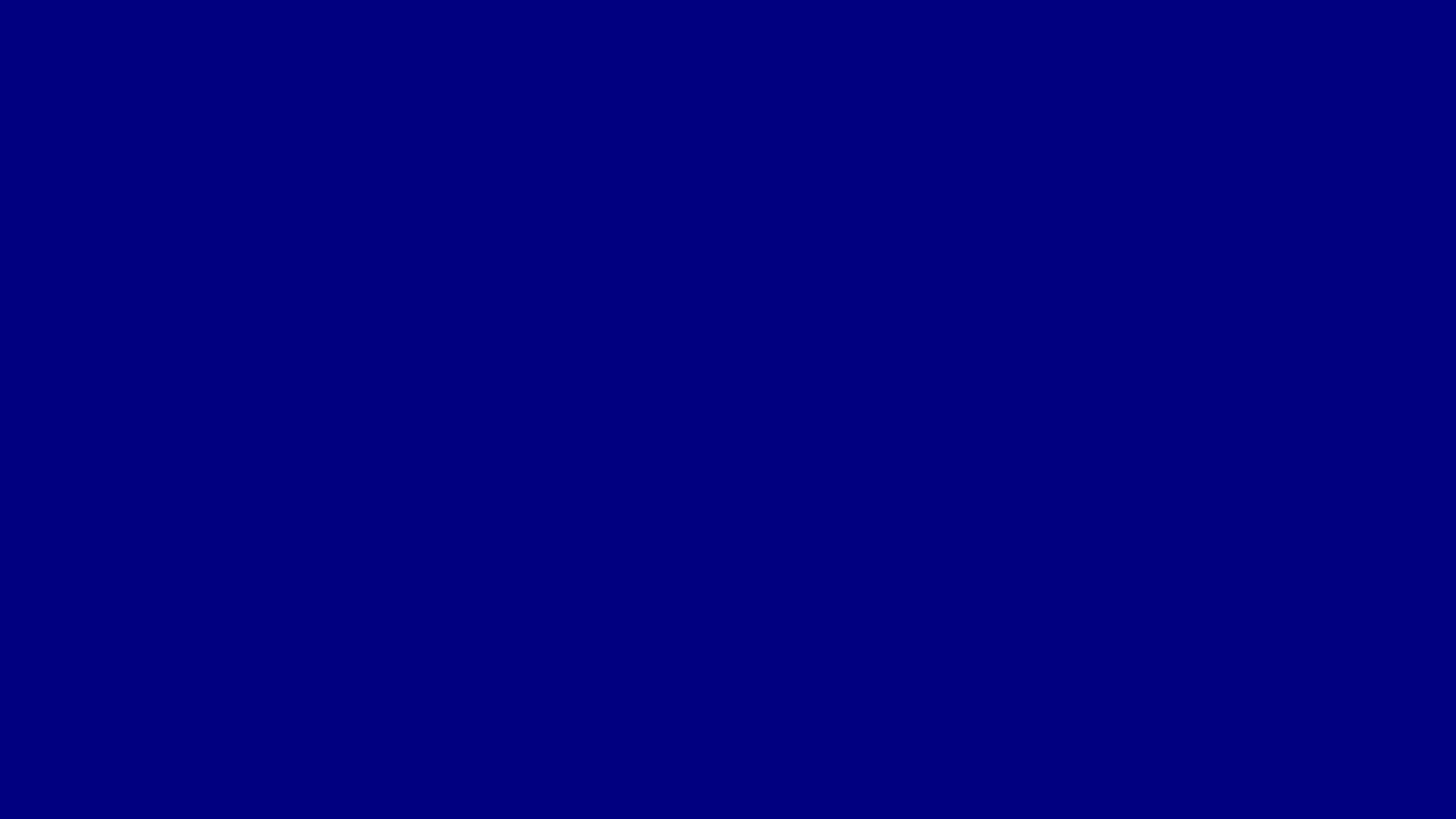 2560x1440 Navy Blue Solid Color Background