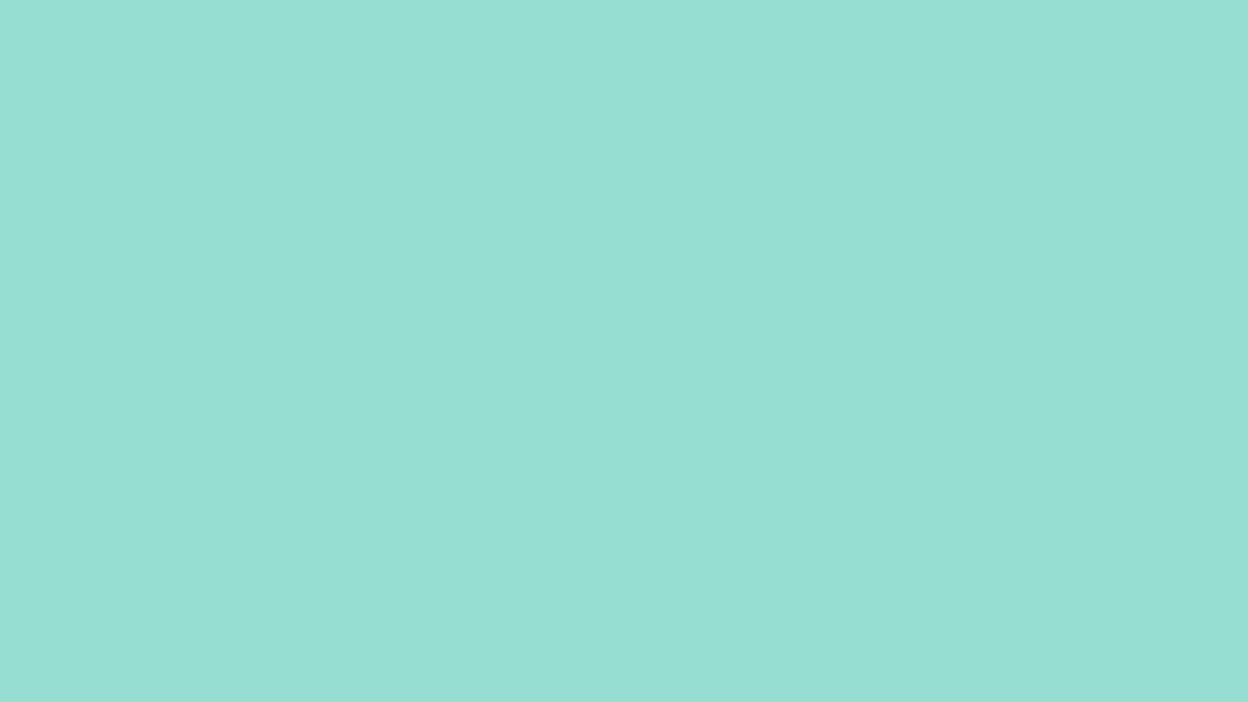 2560x1440 Pale Robin Egg Blue Solid Color Background
