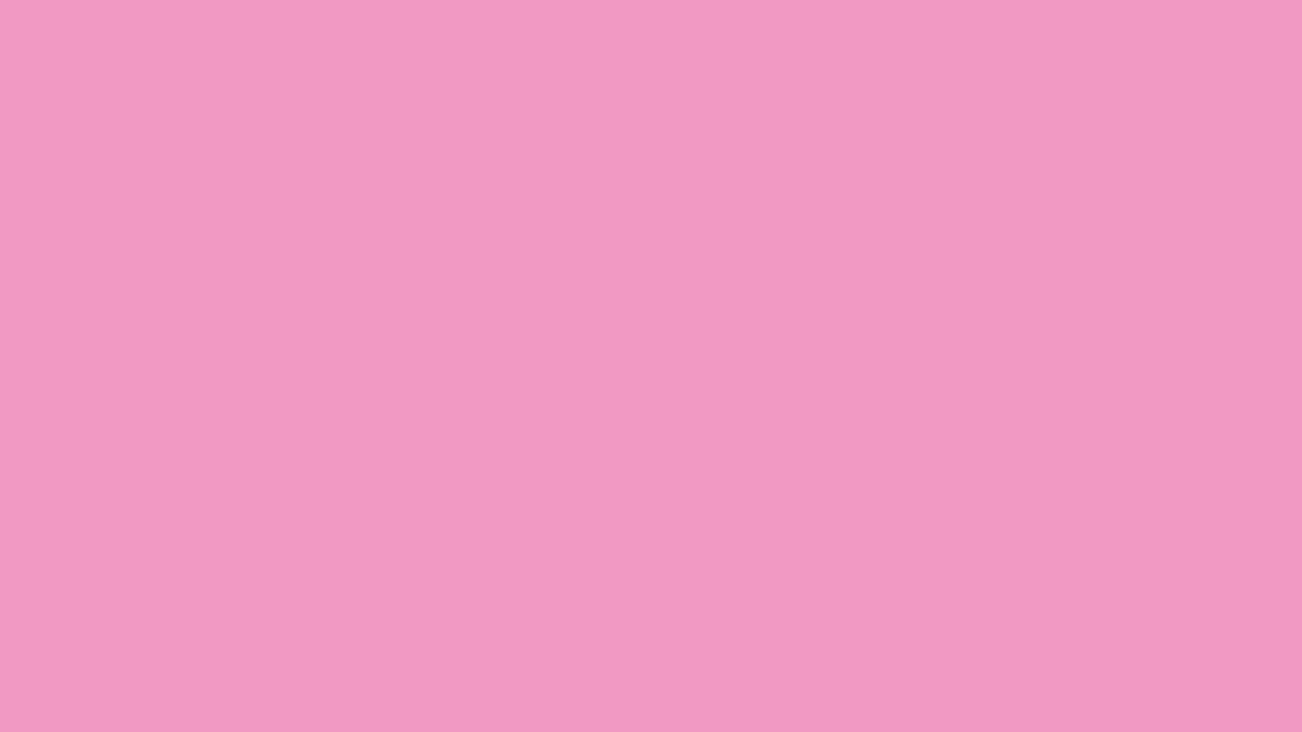 2560x1440 Pastel Magenta Solid Color Background