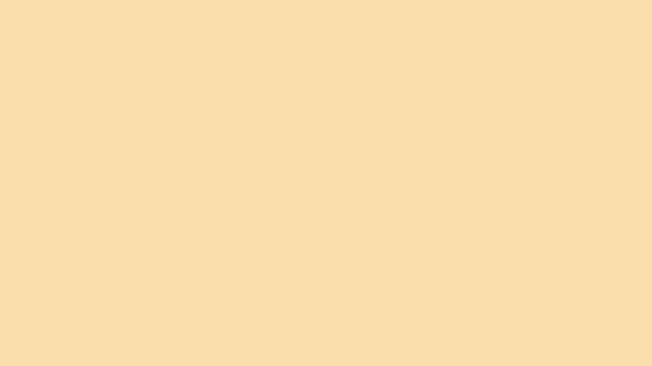 2560x1440 Peach-yellow Solid Color Background