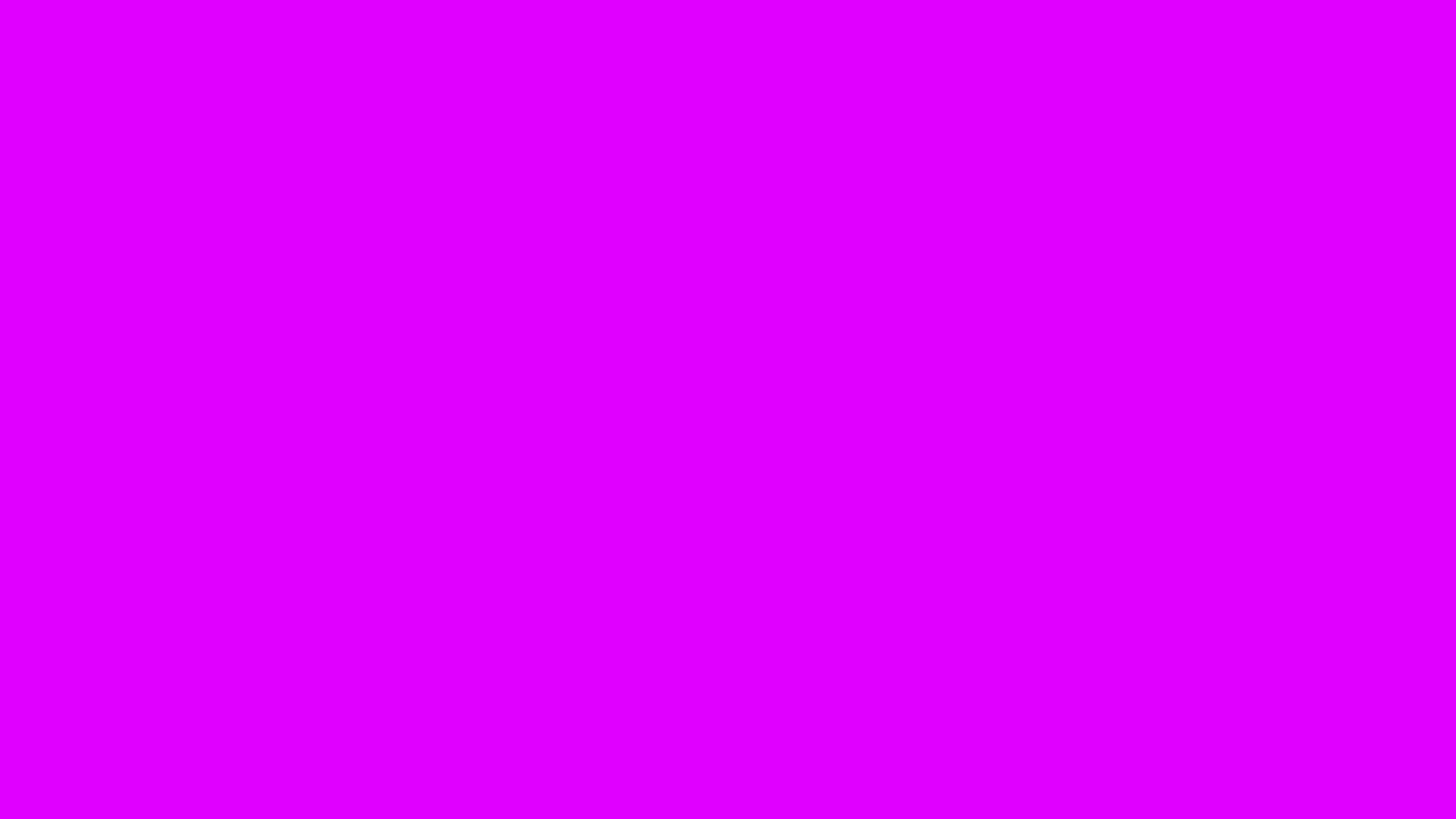 2560x1440 Psychedelic Purple Solid Color Background