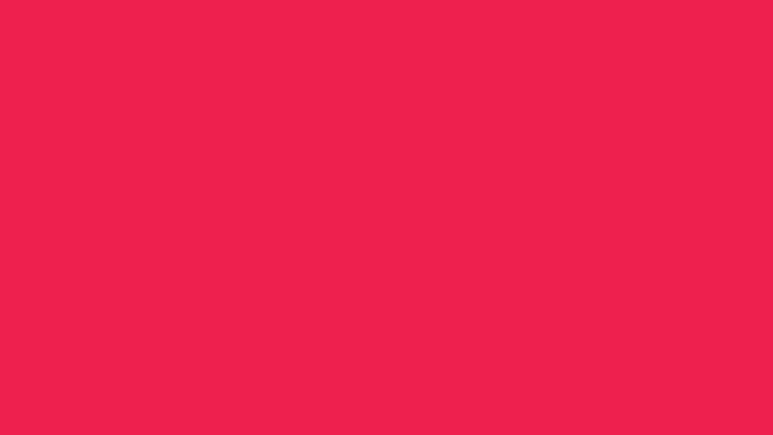 2560x1440 Red Crayola Solid Color Background