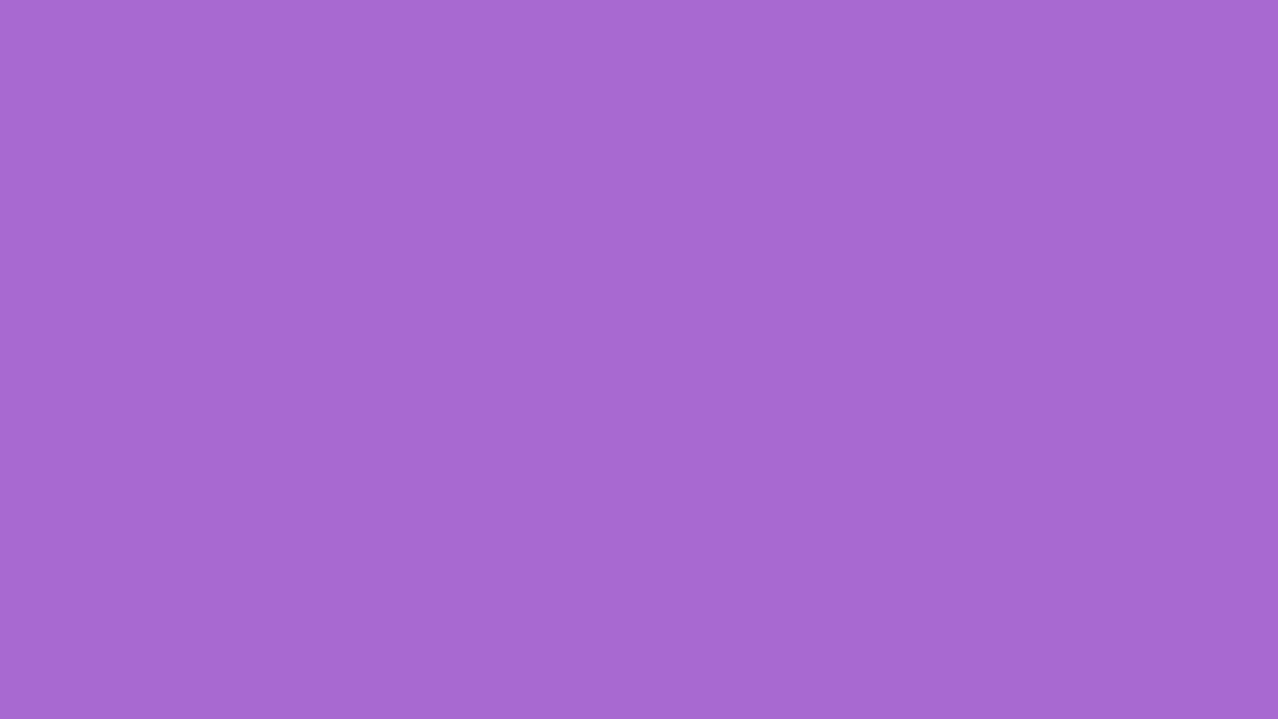 2560x1440 Rich Lavender Solid Color Background