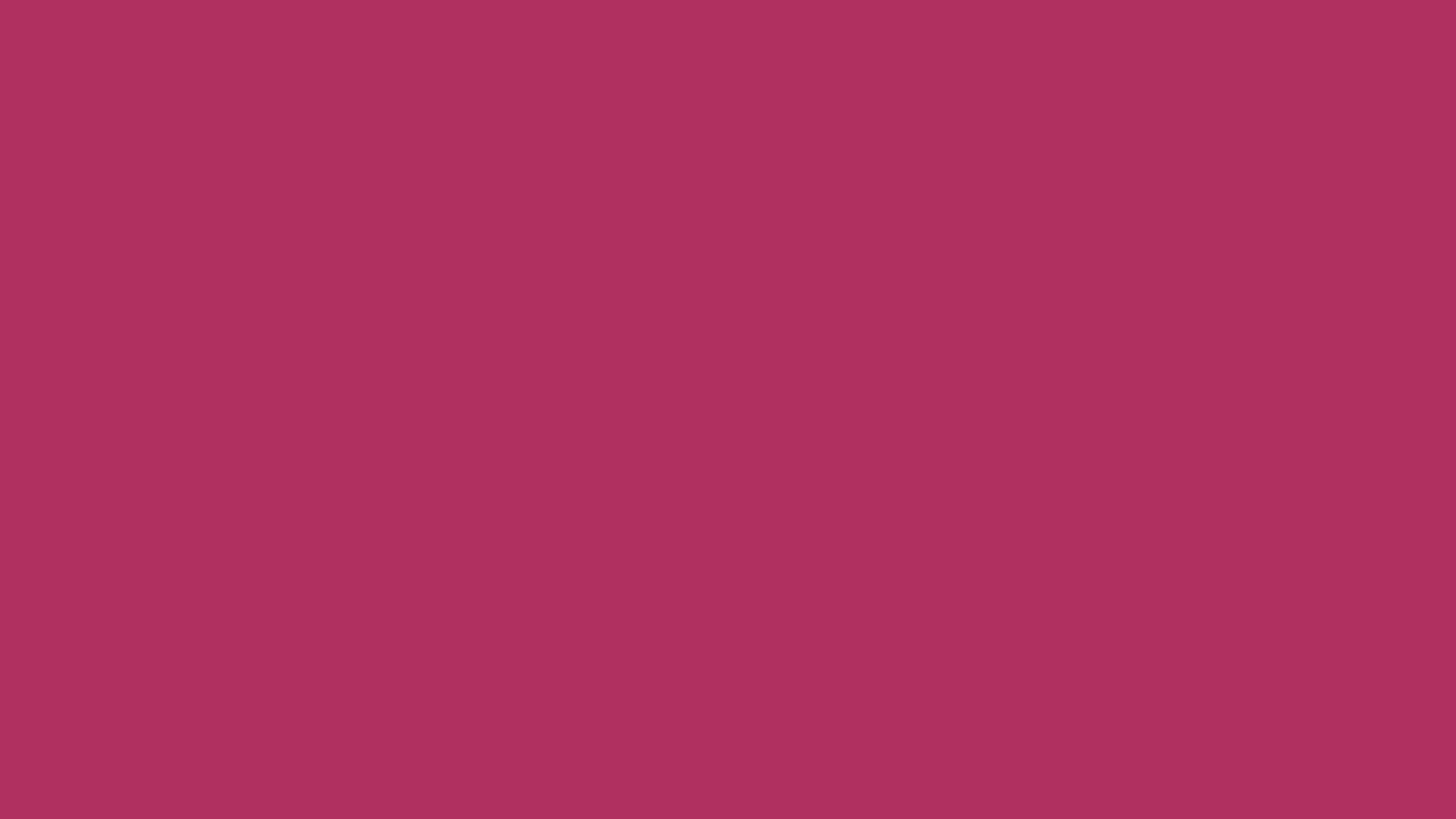 2560x1440 Rich Maroon Solid Color Background
