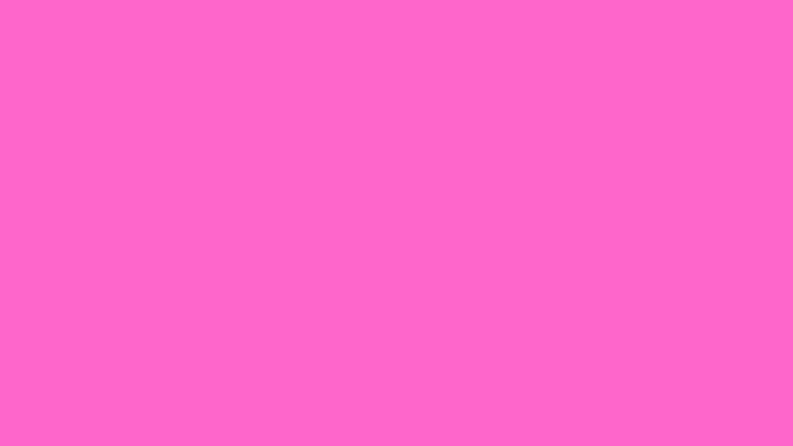 2560x1440 Rose Pink Solid Color Background