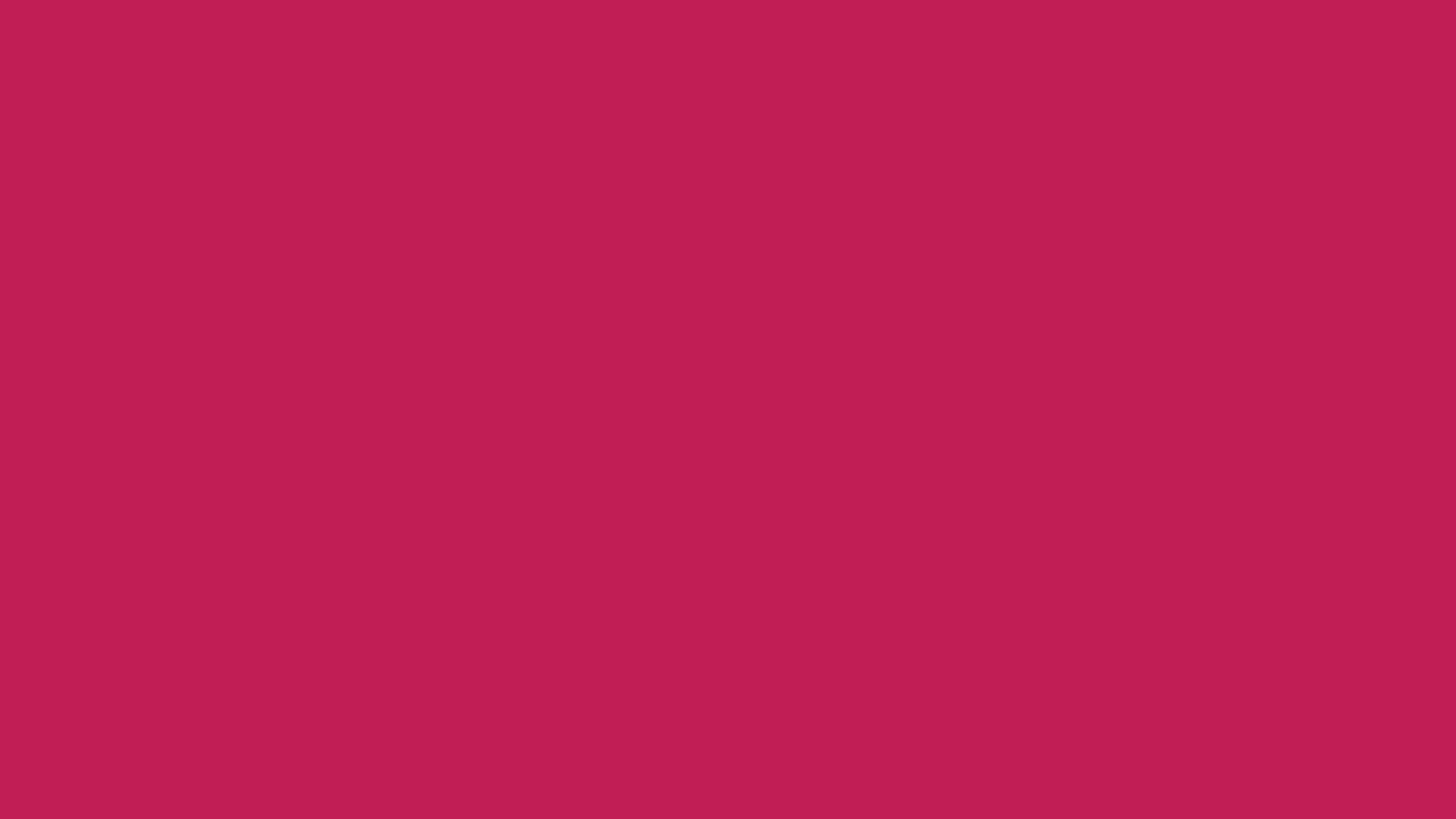 2560x1440 Rose Red Solid Color Background
