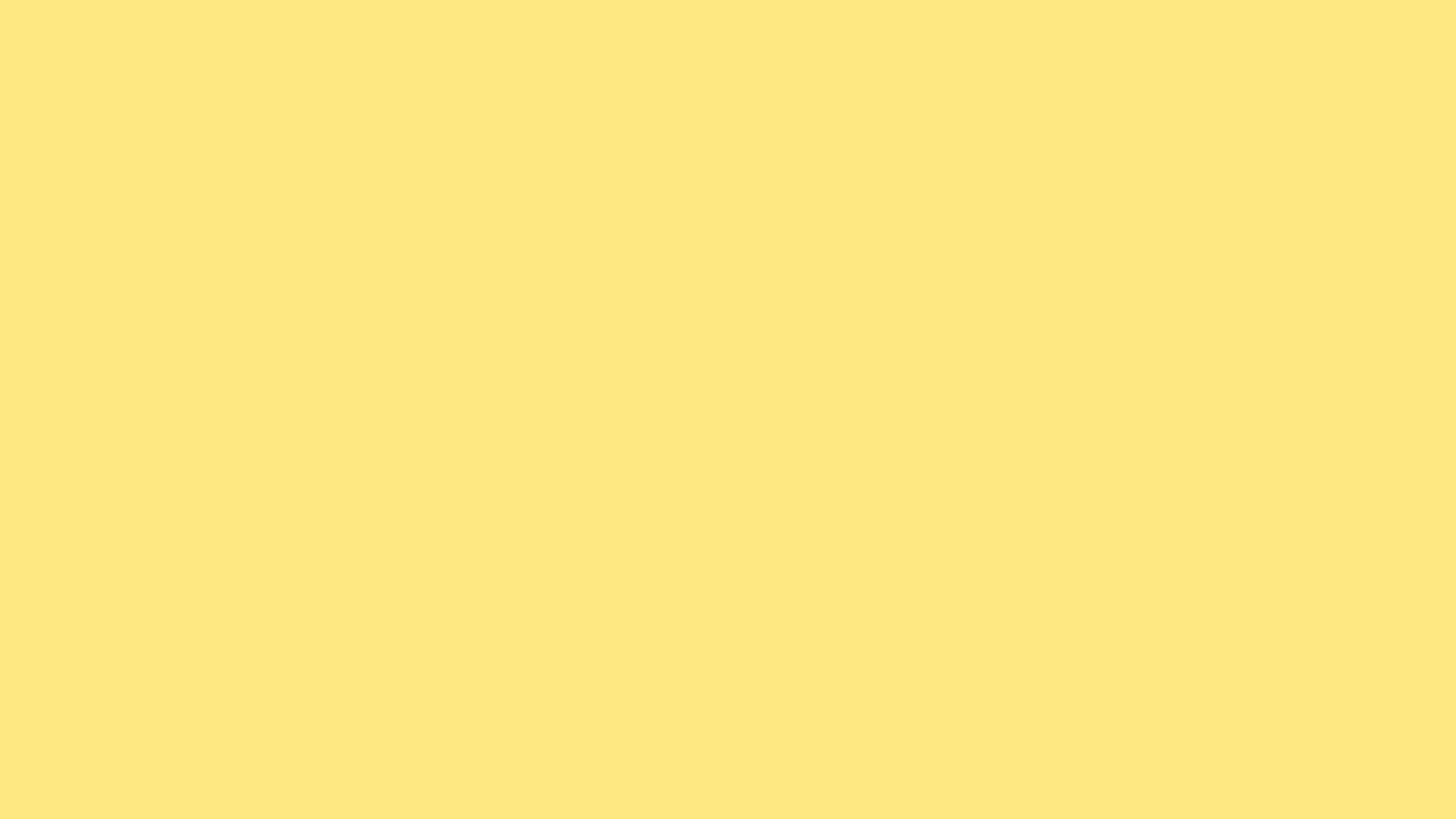 2560x1440 Yellow Crayola Solid Color Background