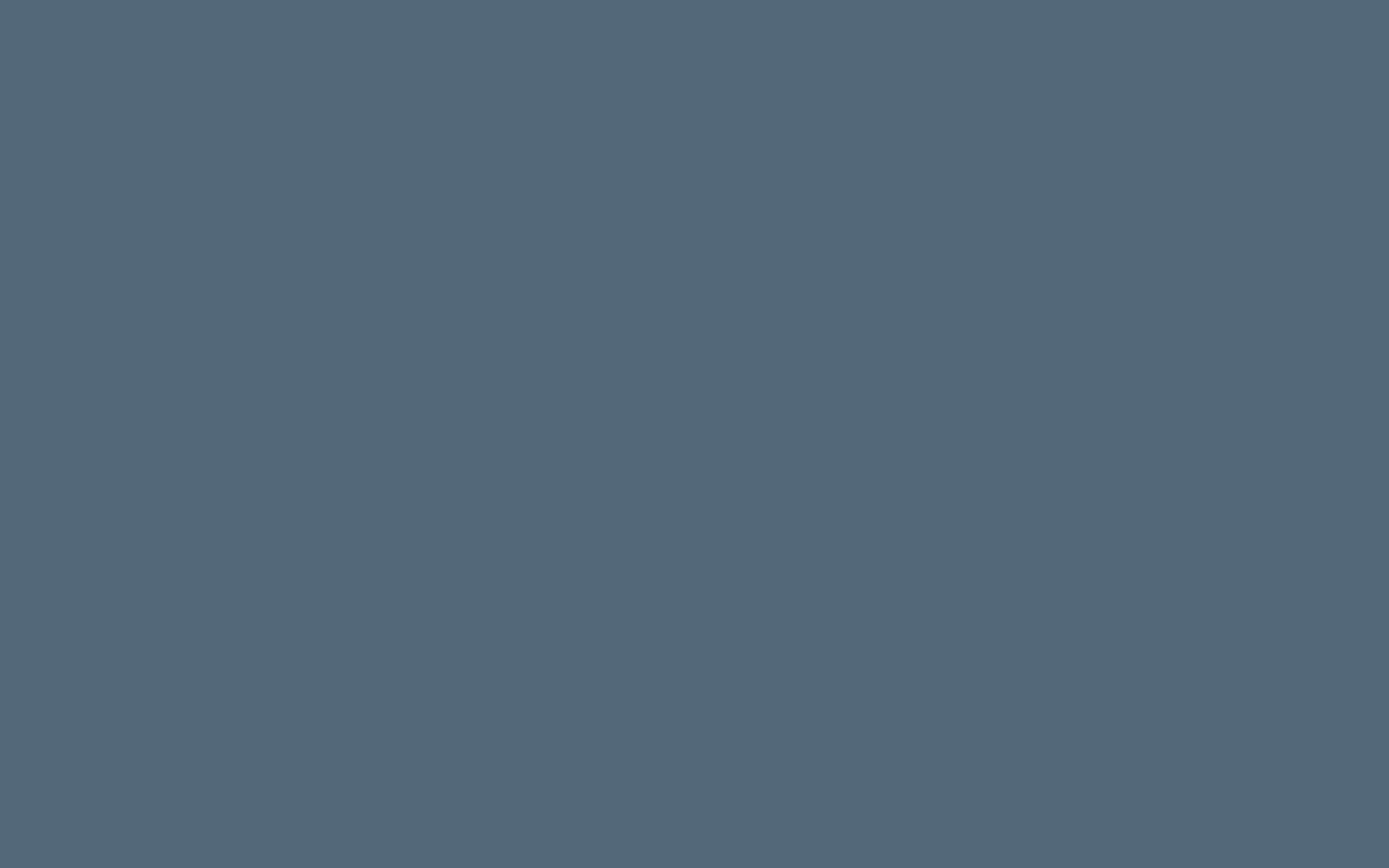 2880x1800 Paynes Grey Solid Color Background