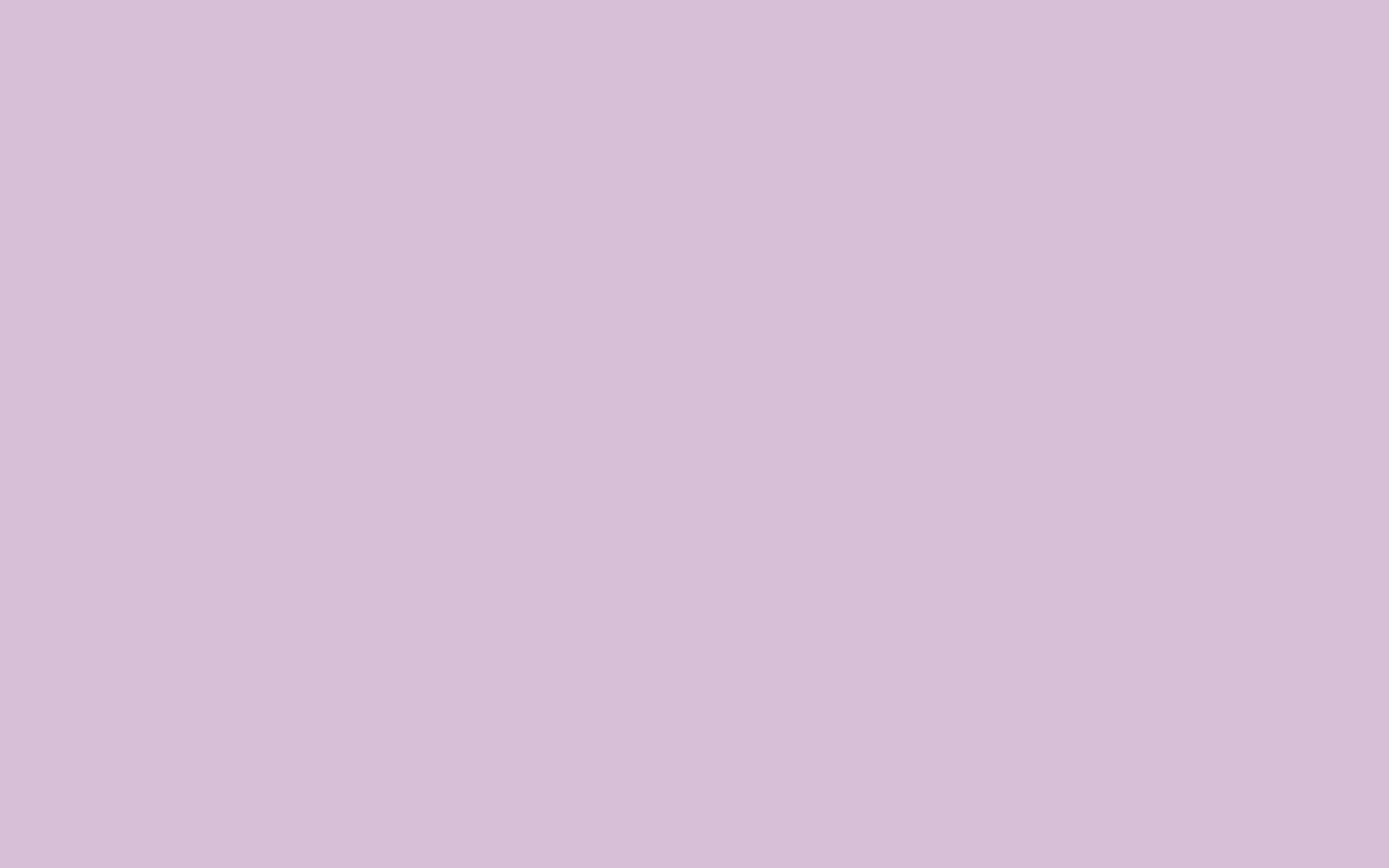 2880x1800 Thistle Solid Color Background