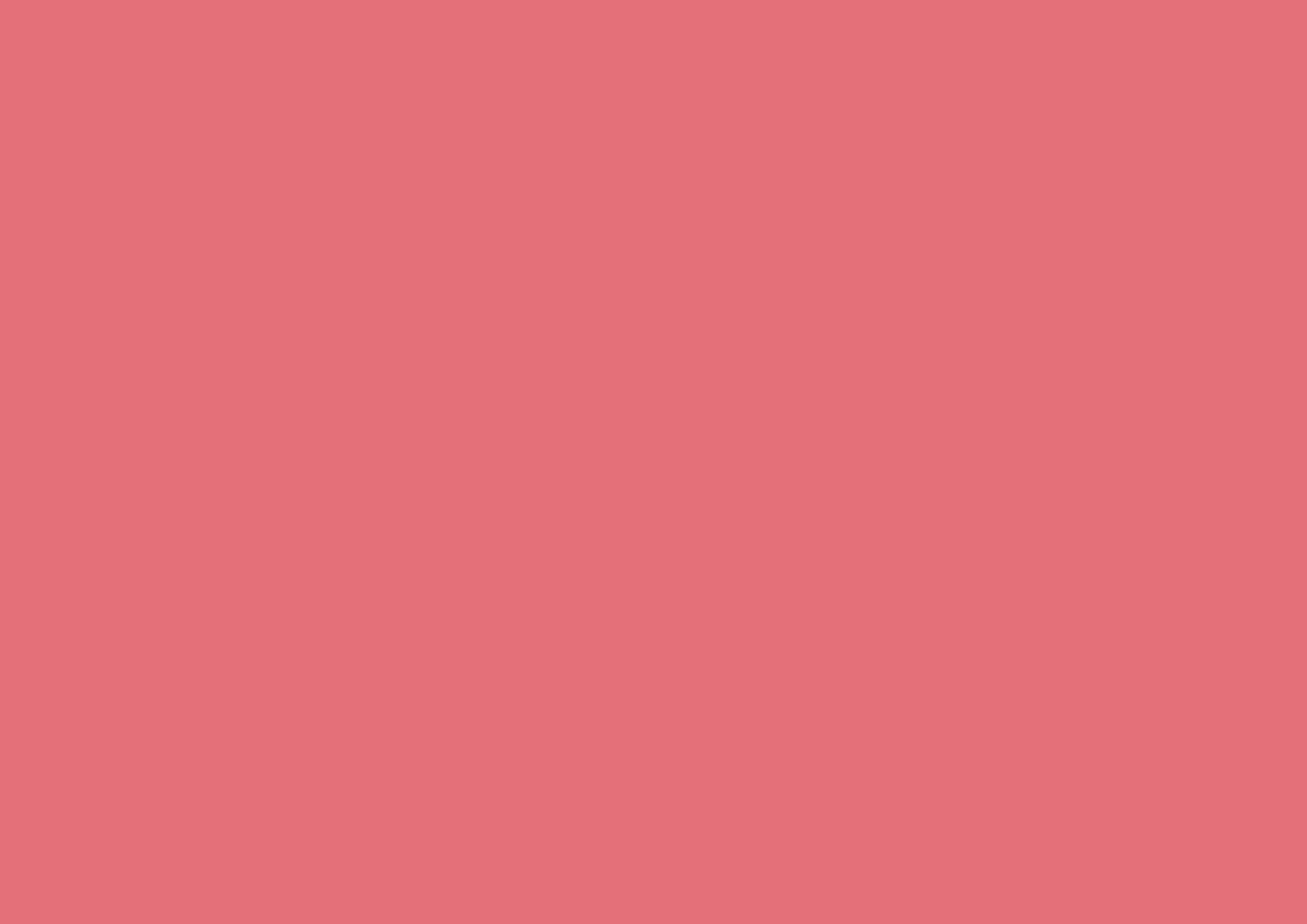 3508x2480 Tango Pink Solid Color Background