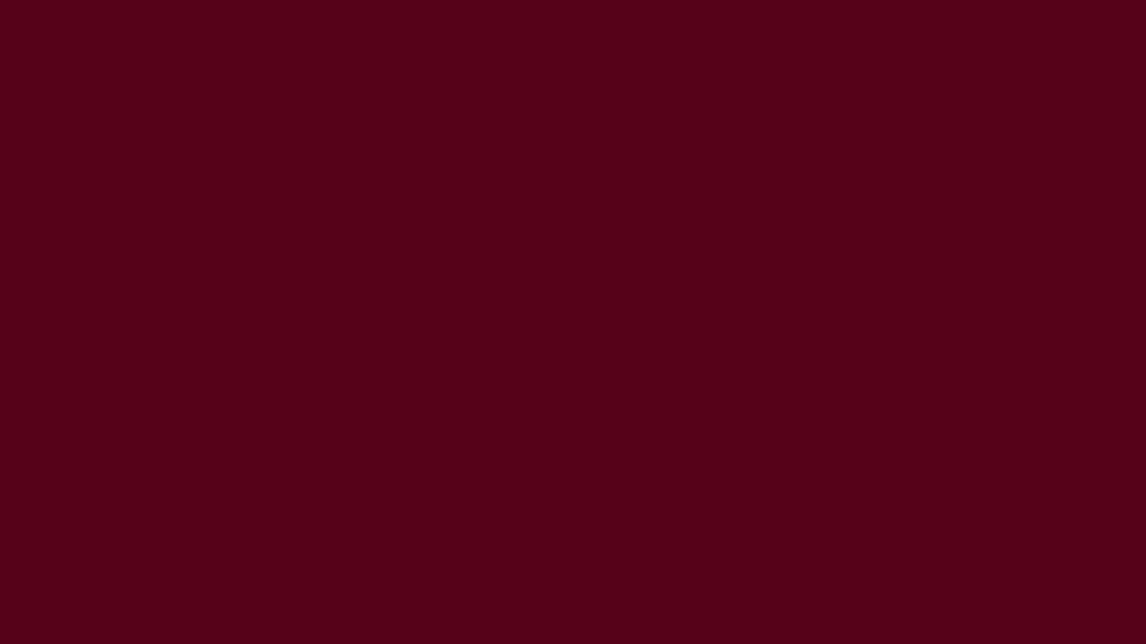 3840x2160 Dark Scarlet Solid Color Background