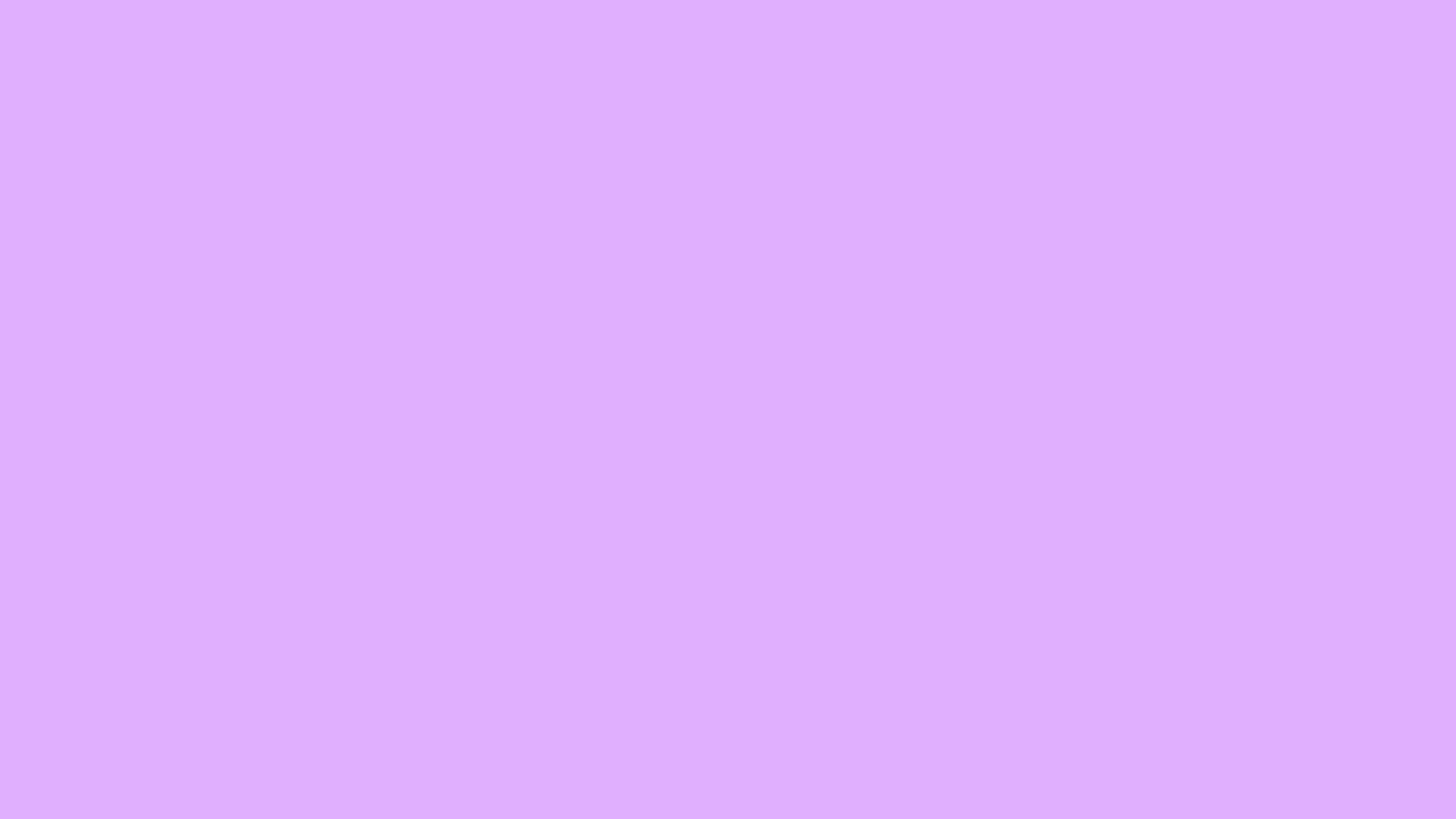 3840x2160 Mauve Solid Color Background