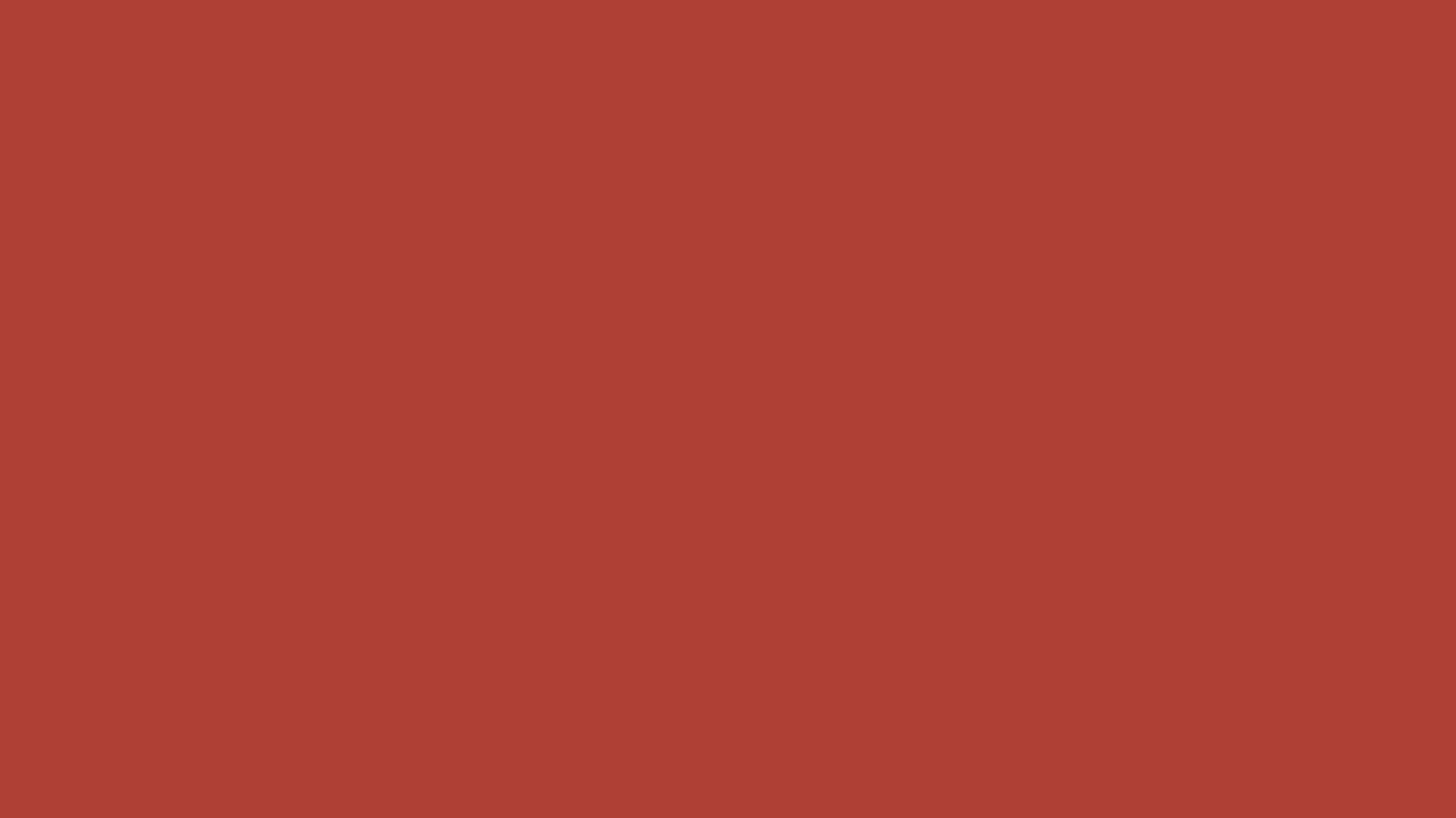 3840x2160 Medium Carmine Solid Color Background