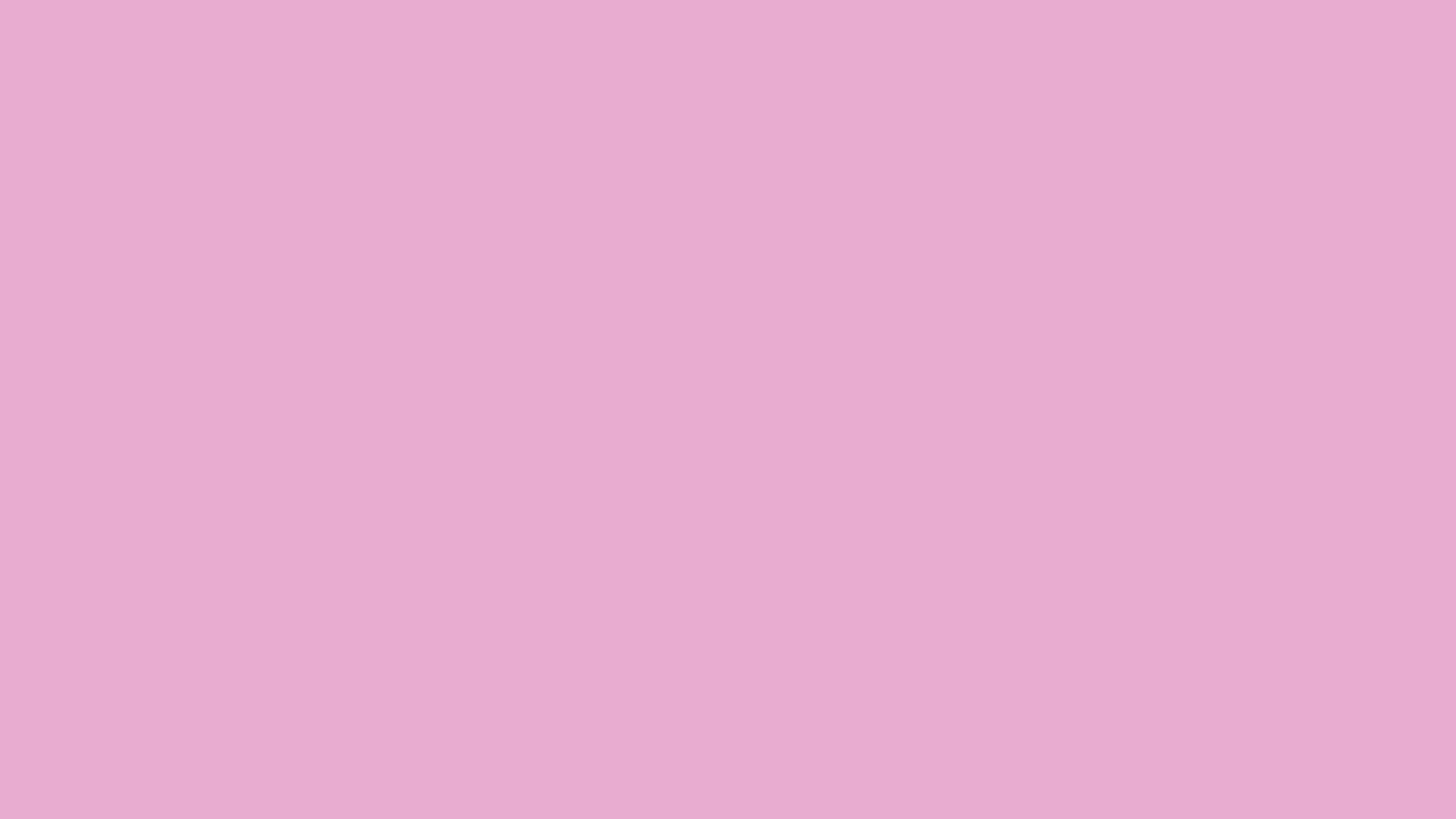 3840x2160 Pink Pearl Solid Color Background