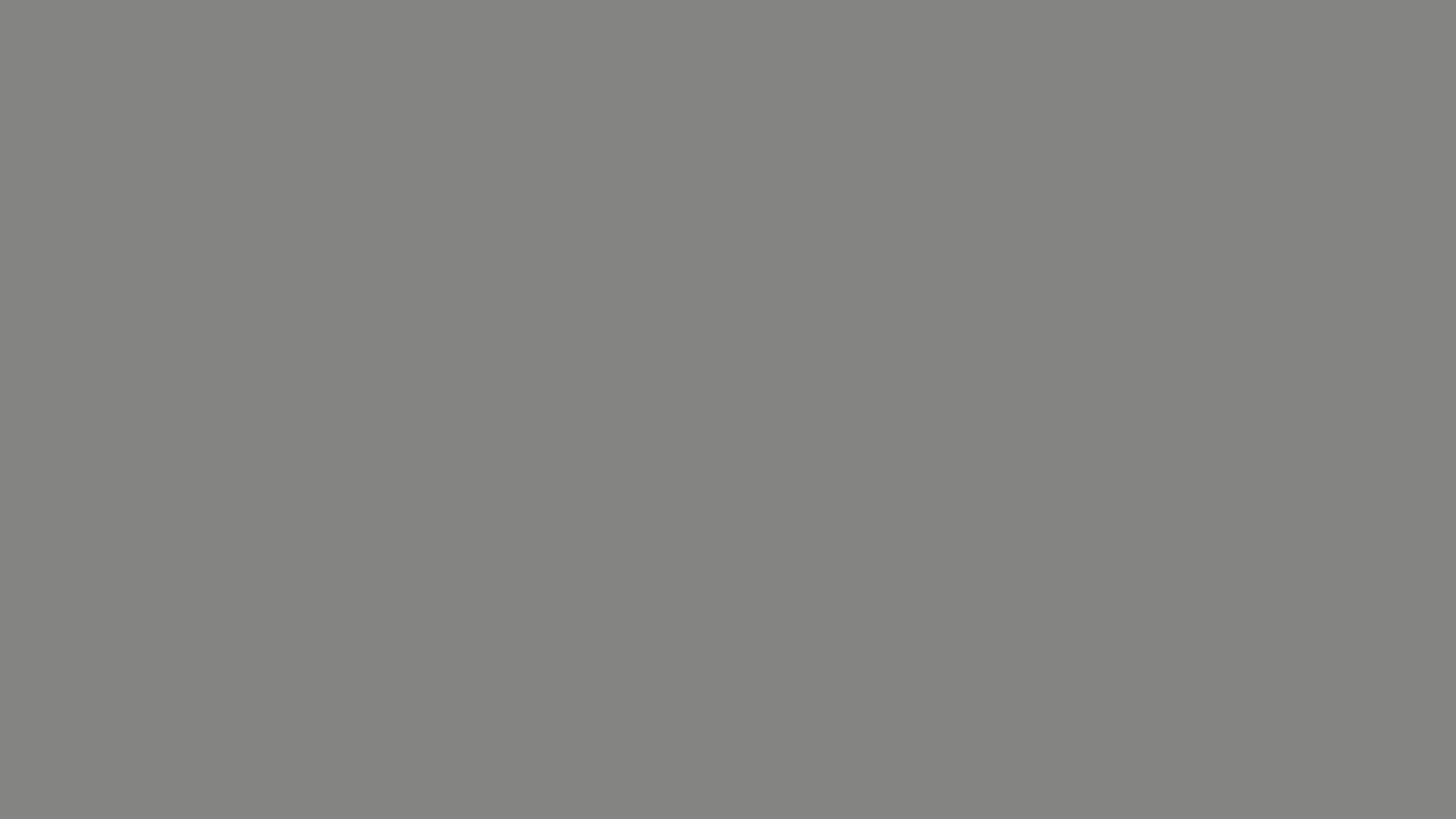 4096x2304 Battleship Grey Solid Color Background