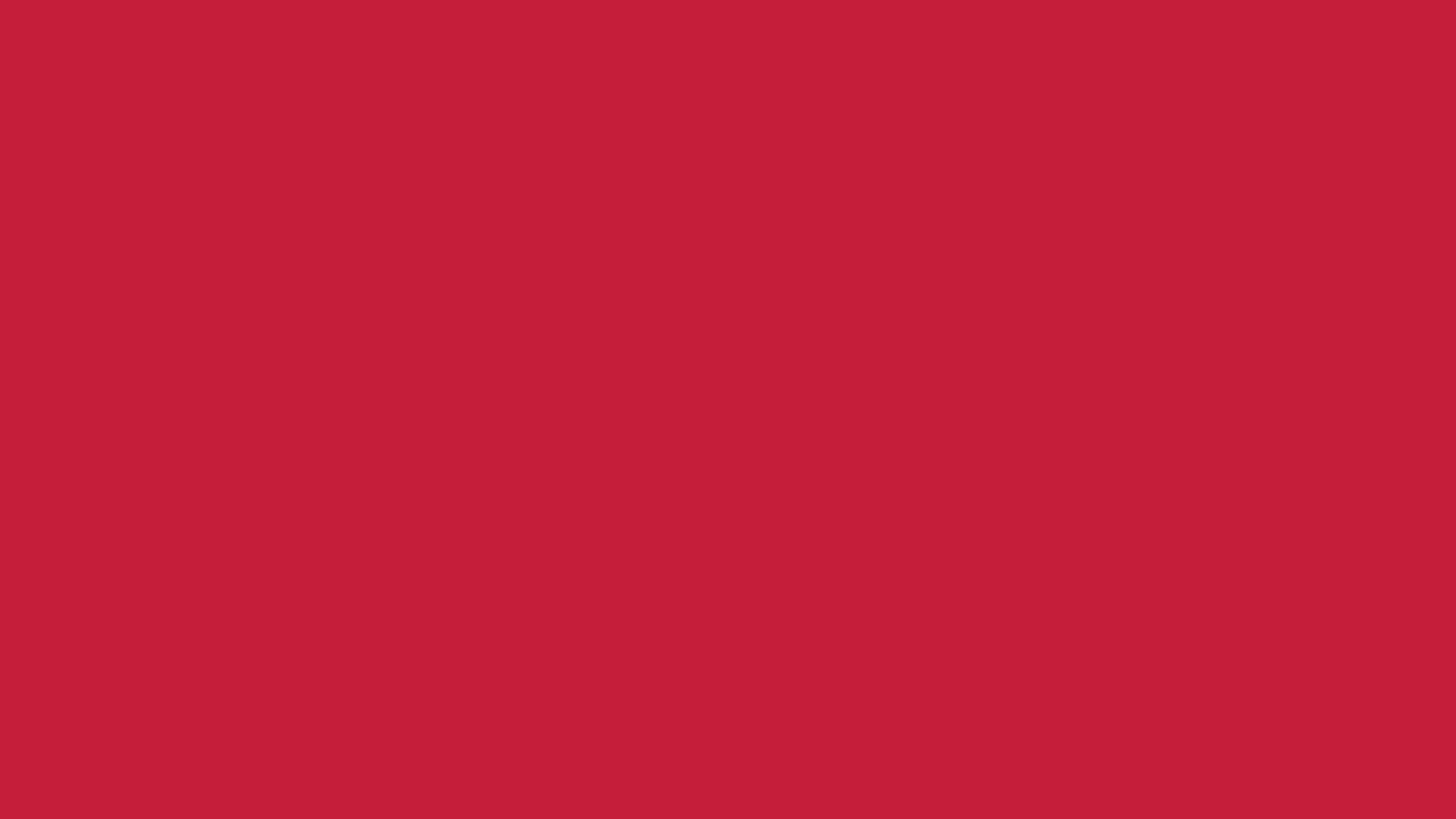 4096x2304 Cardinal Solid Color Background