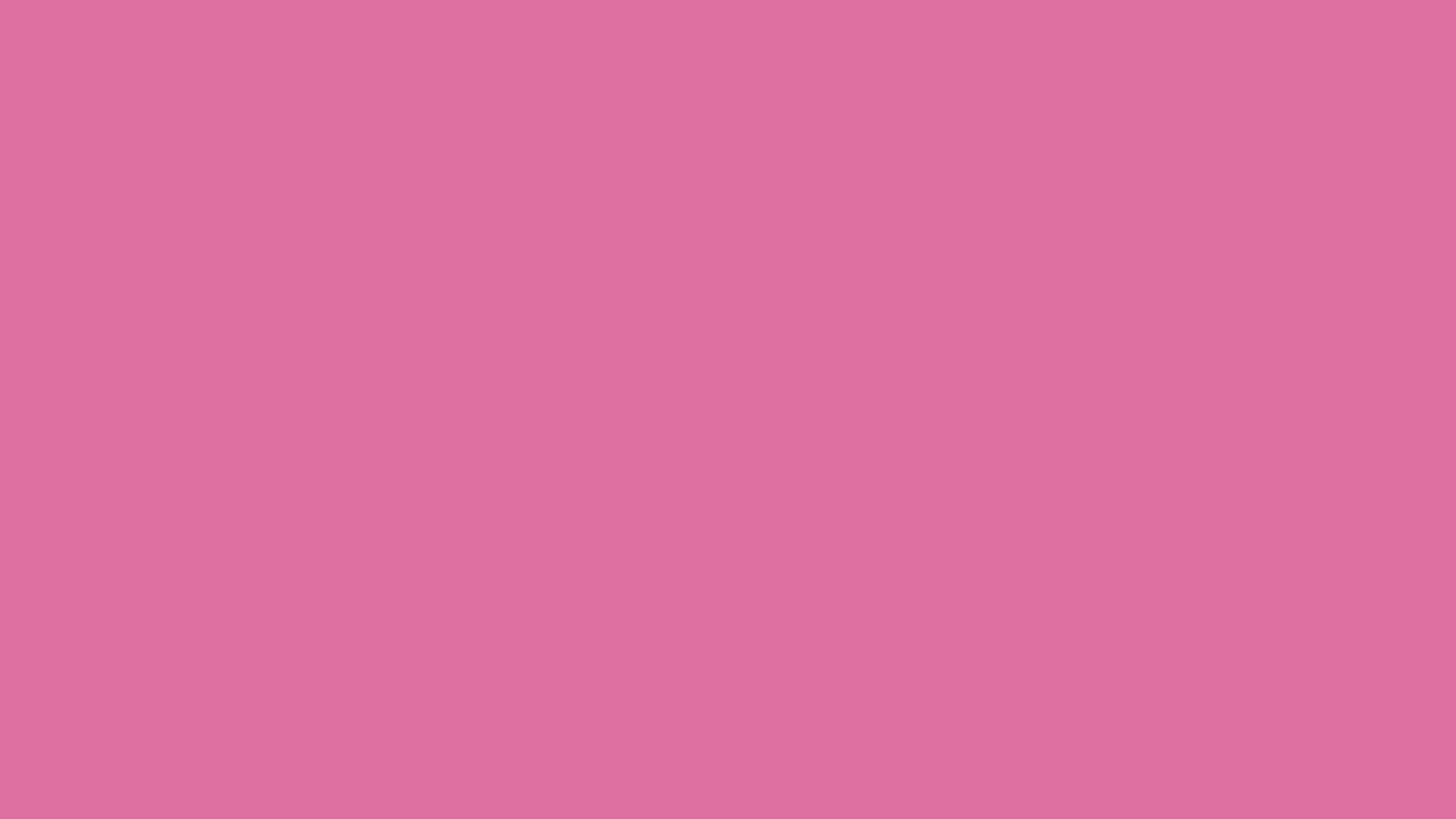 4096x2304 China Pink Solid Color Background