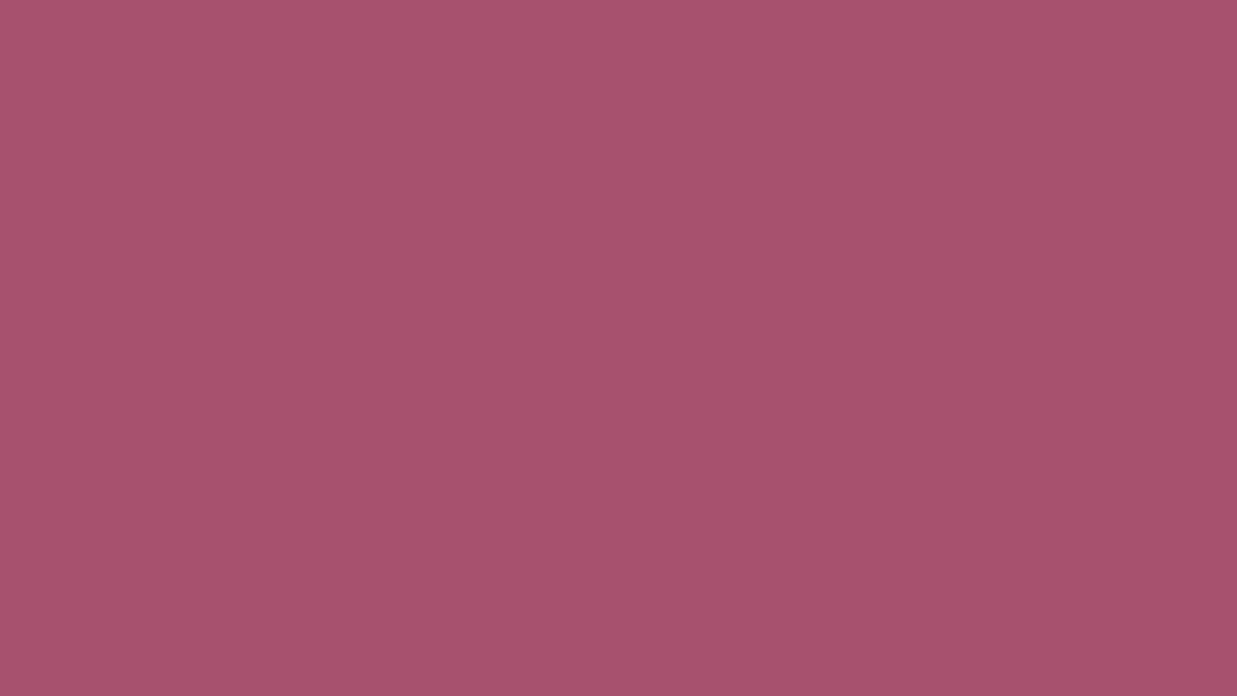 4096x2304 China Rose Solid Color Background
