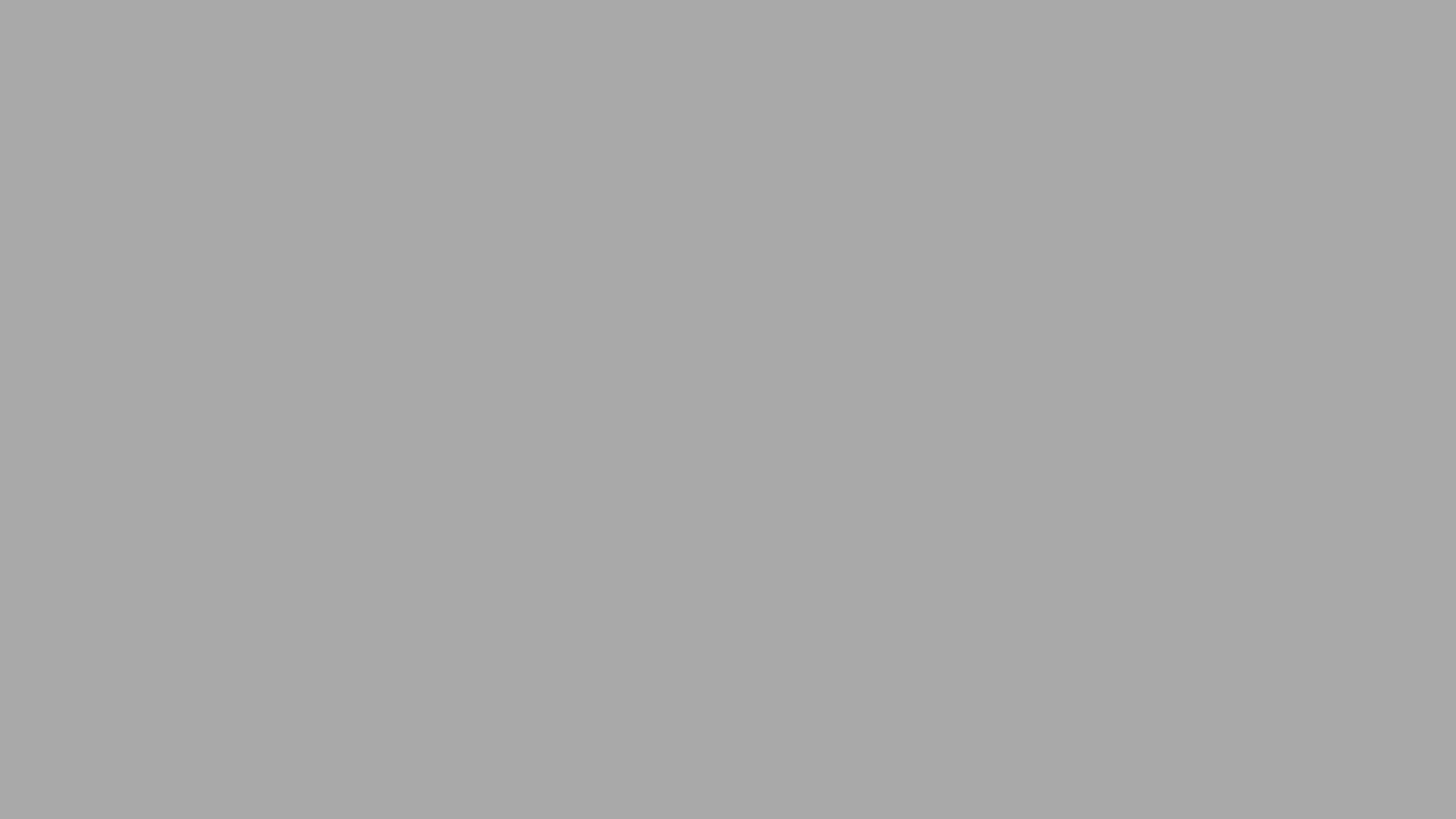 4096x2304 Dark Gray Solid Color Background