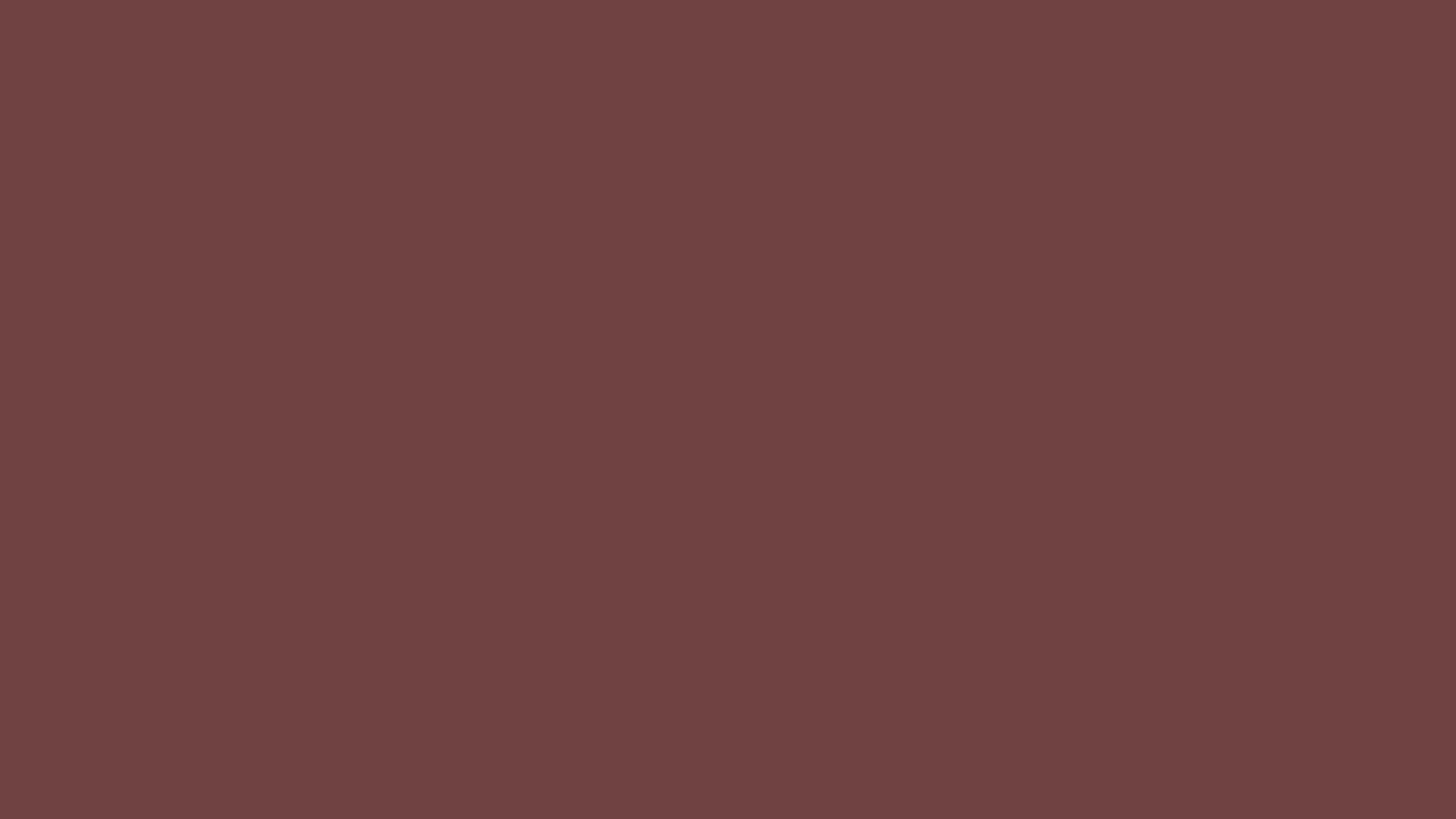 4096x2304 Deep Coffee Solid Color Background
