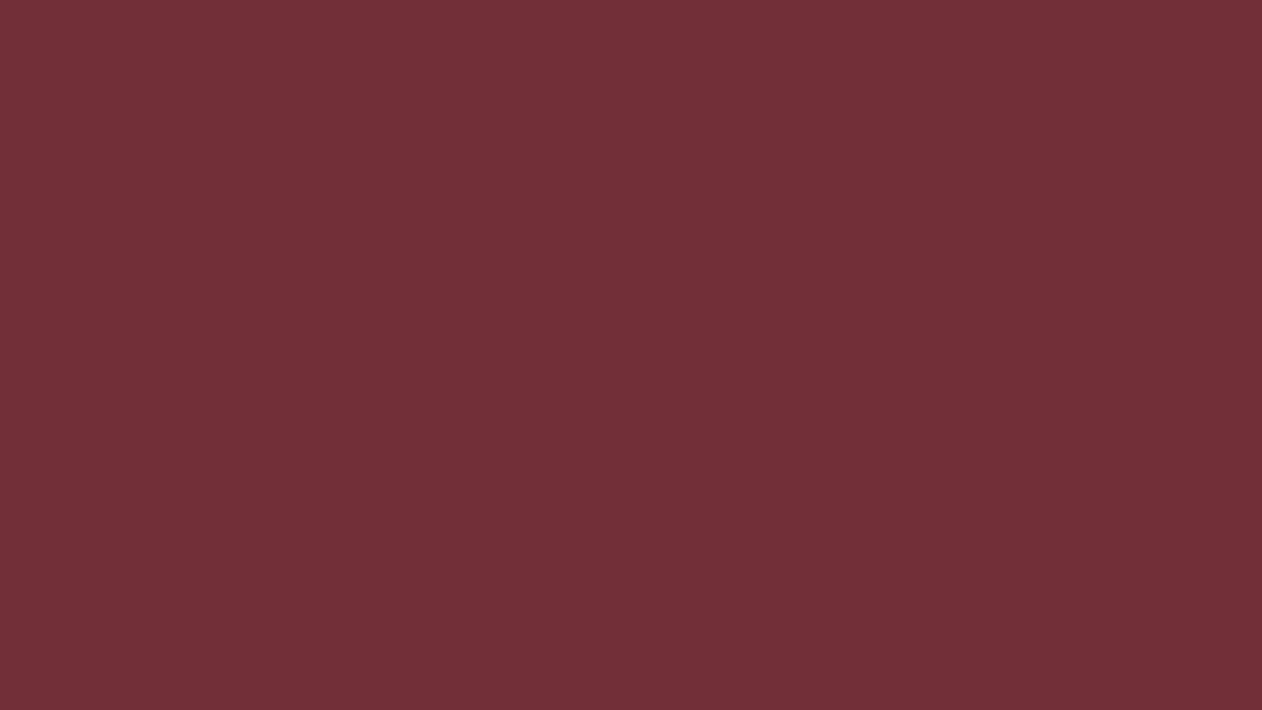 4096x2304 Wine Solid Color Background
