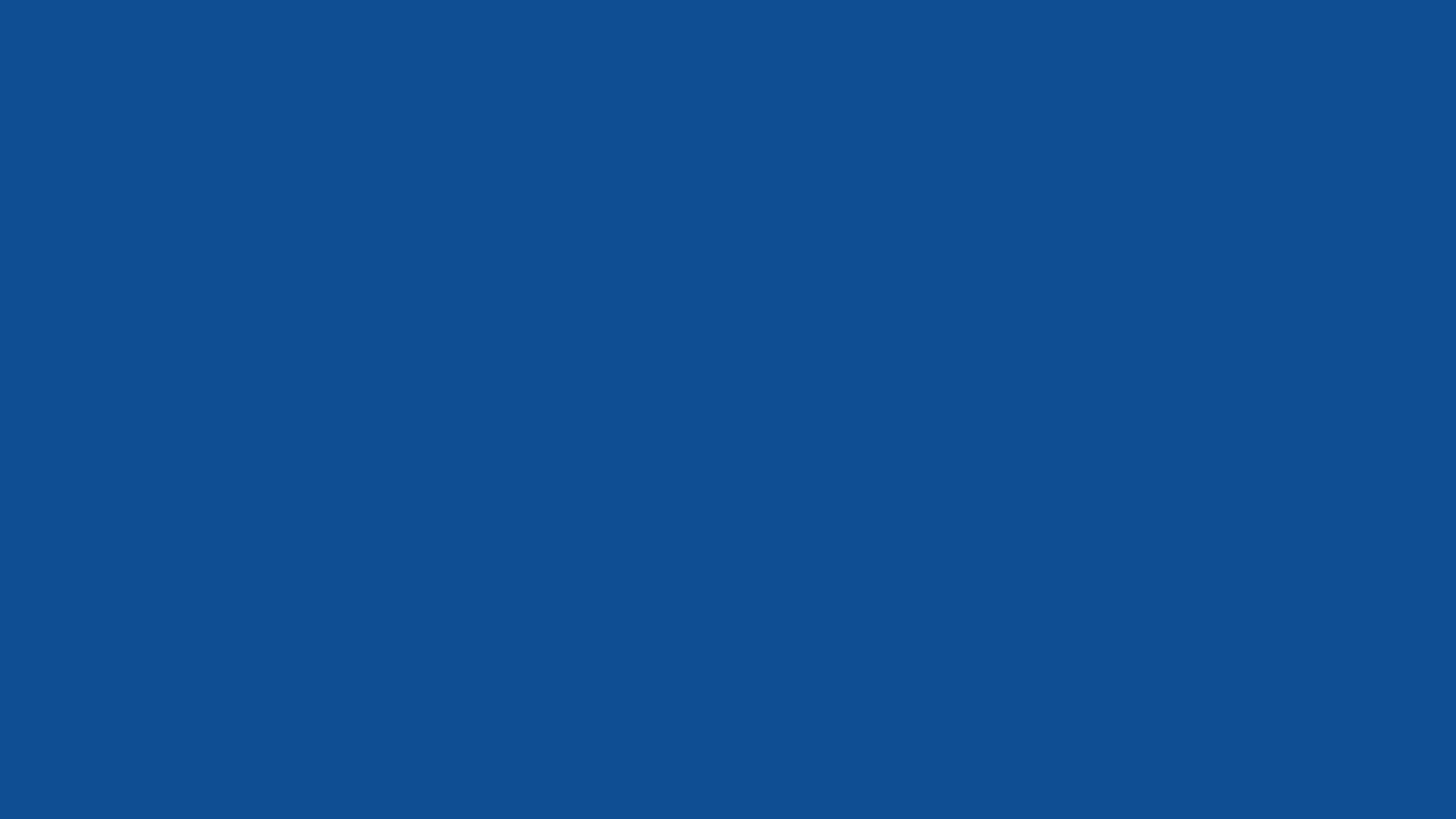 4096x2304 Yale Blue Solid Color Background