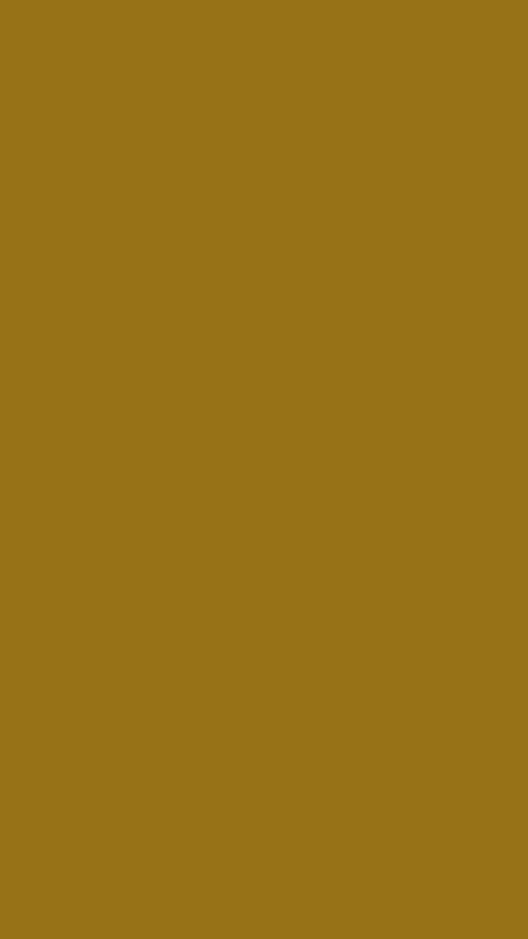 750x1334 Bistre Brown Solid Color Background
