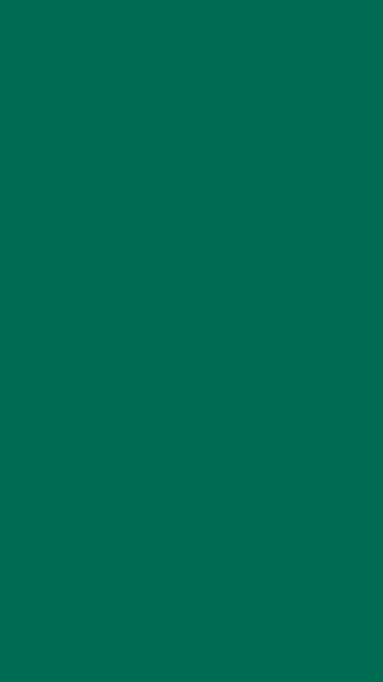 750x1334 Bottle Green Solid Color Background