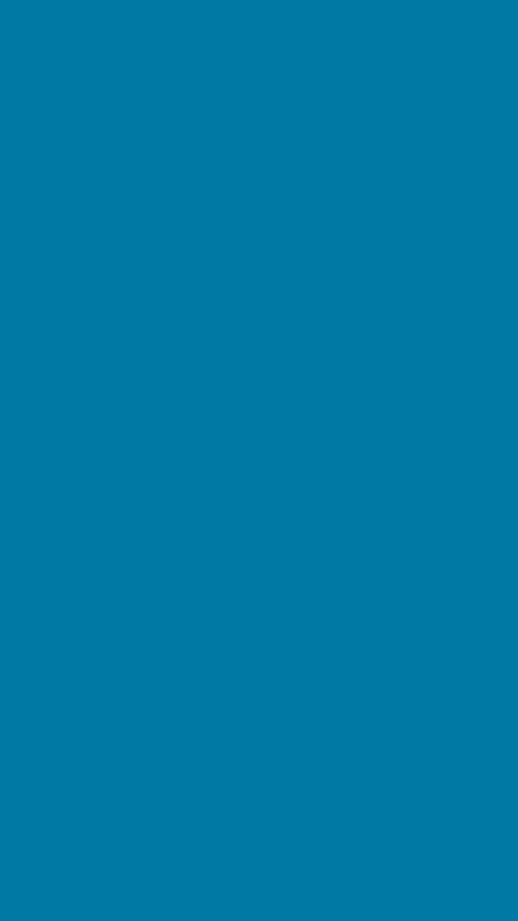 750x1334 CG Blue Solid Color Background