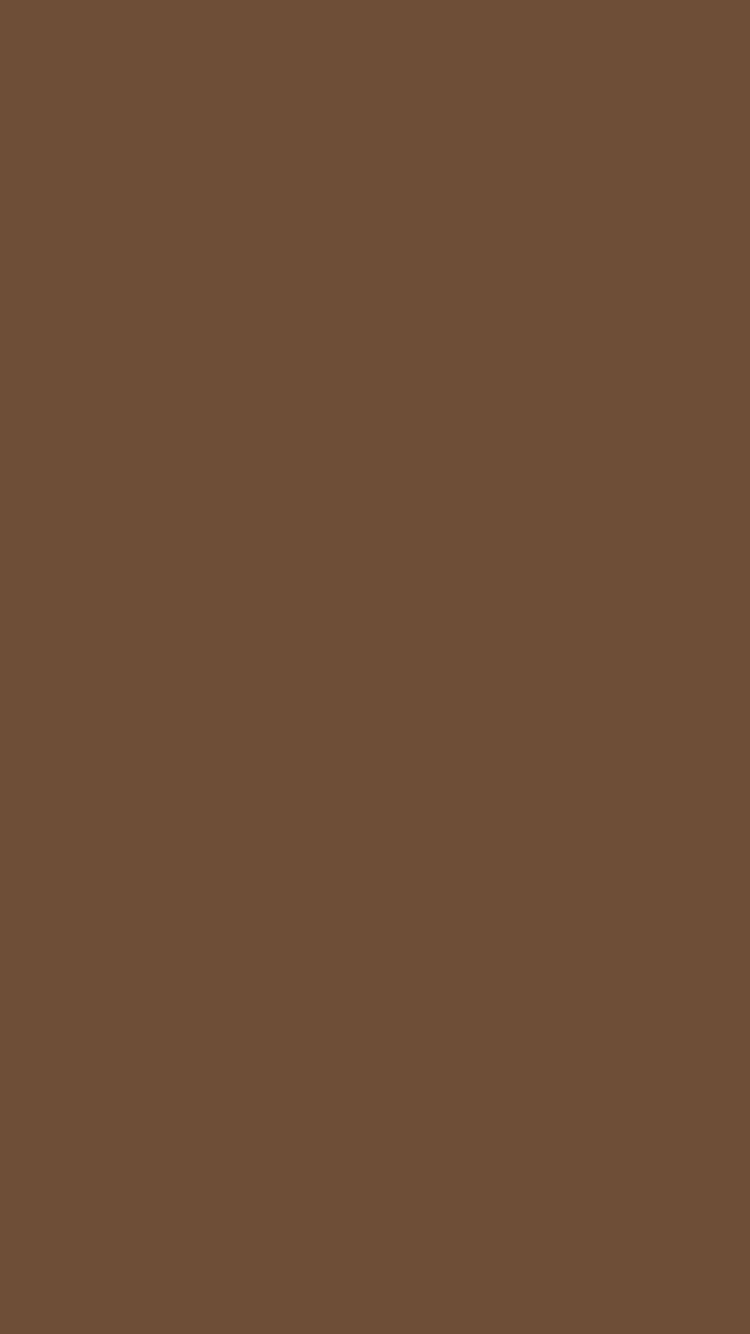 750x1334 Coffee Solid Color Background
