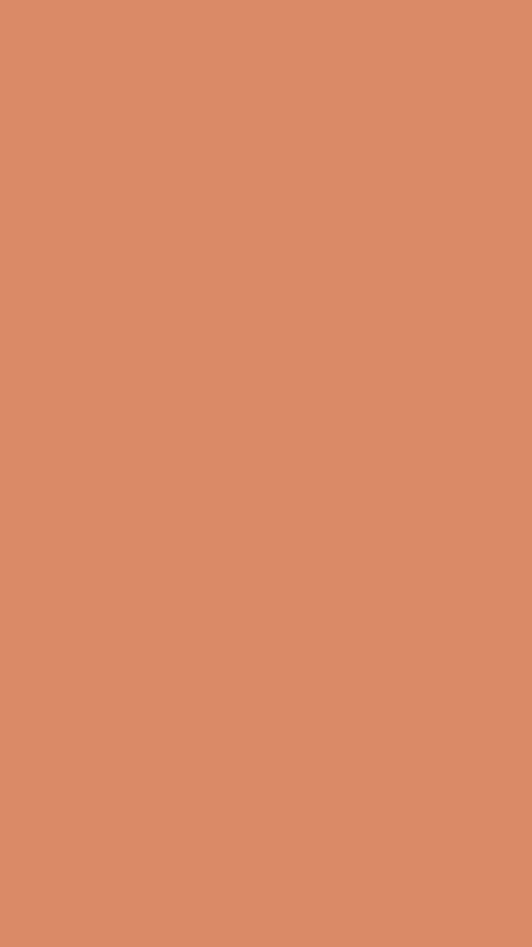 750x1334 Copper Crayola Solid Color Background