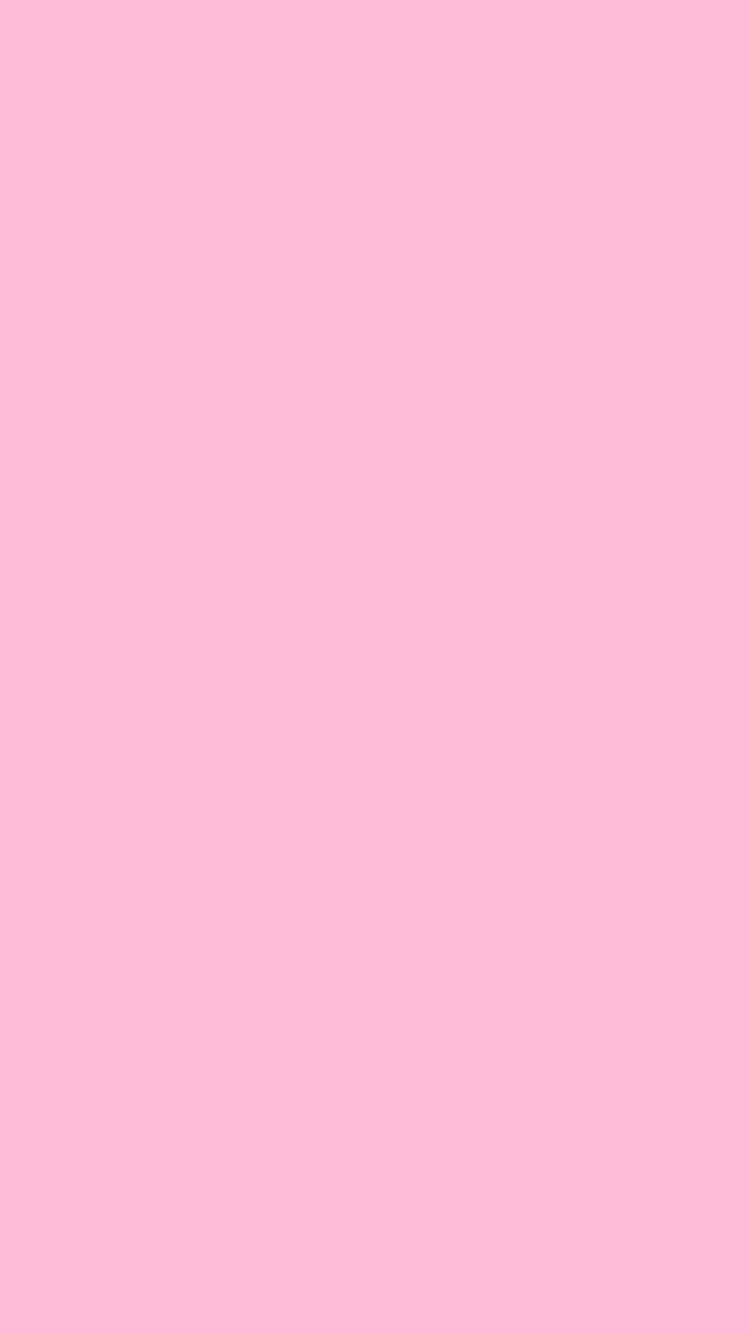 750x1334 Cotton Candy Solid Color Background