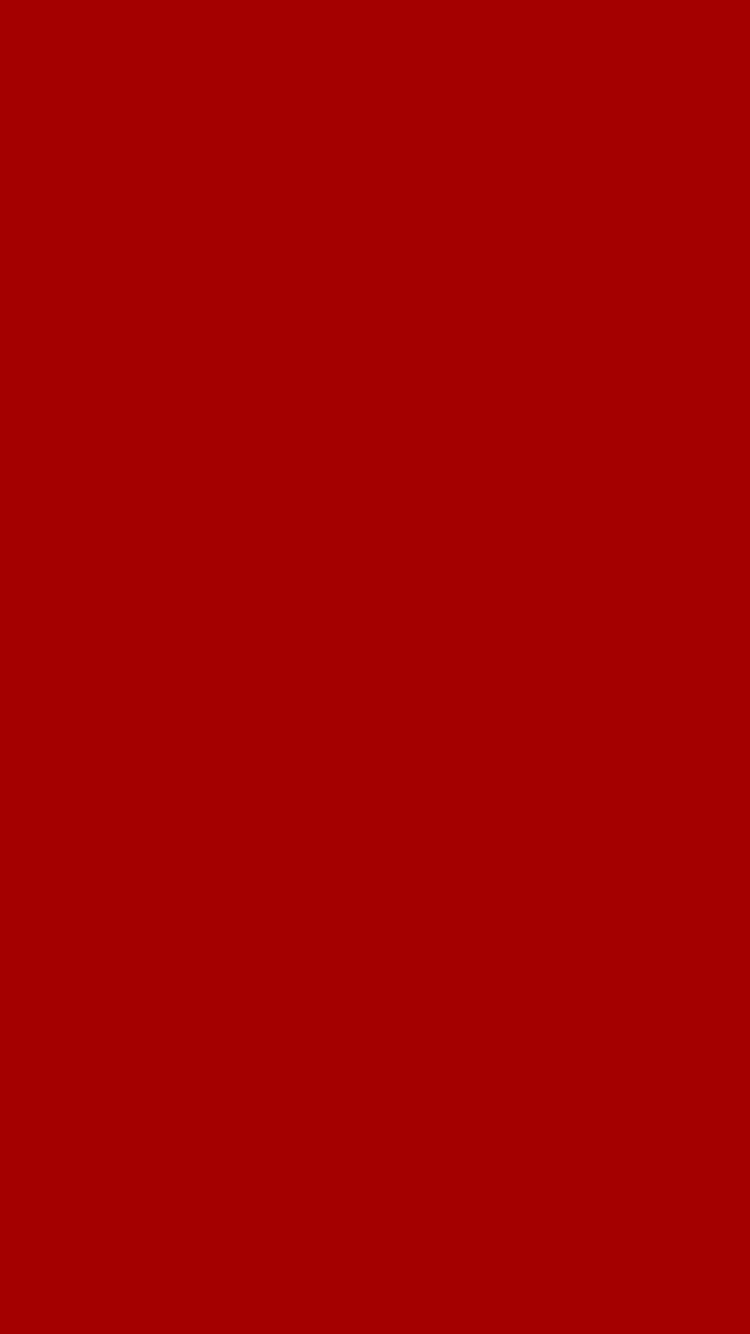 750x1334 Dark Candy Apple Red Solid Color Background