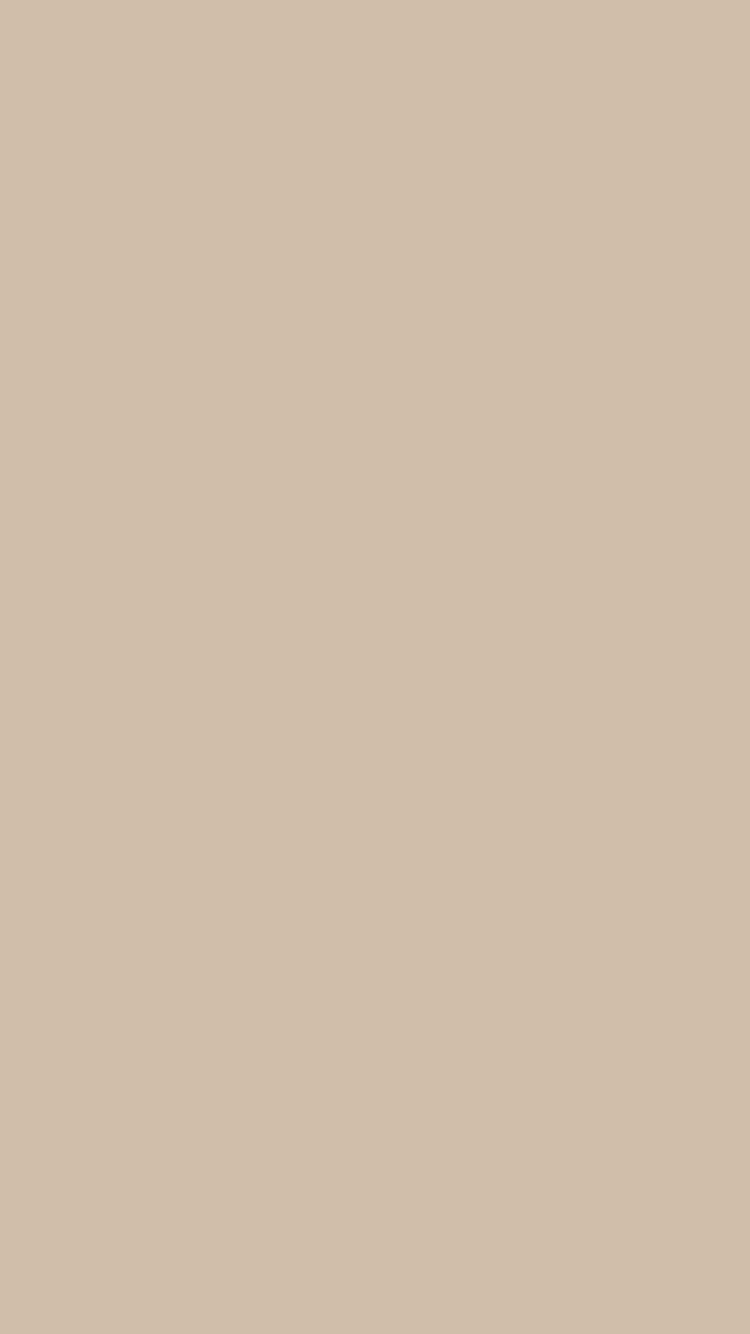 750x1334 Dark Vanilla Solid Color Background