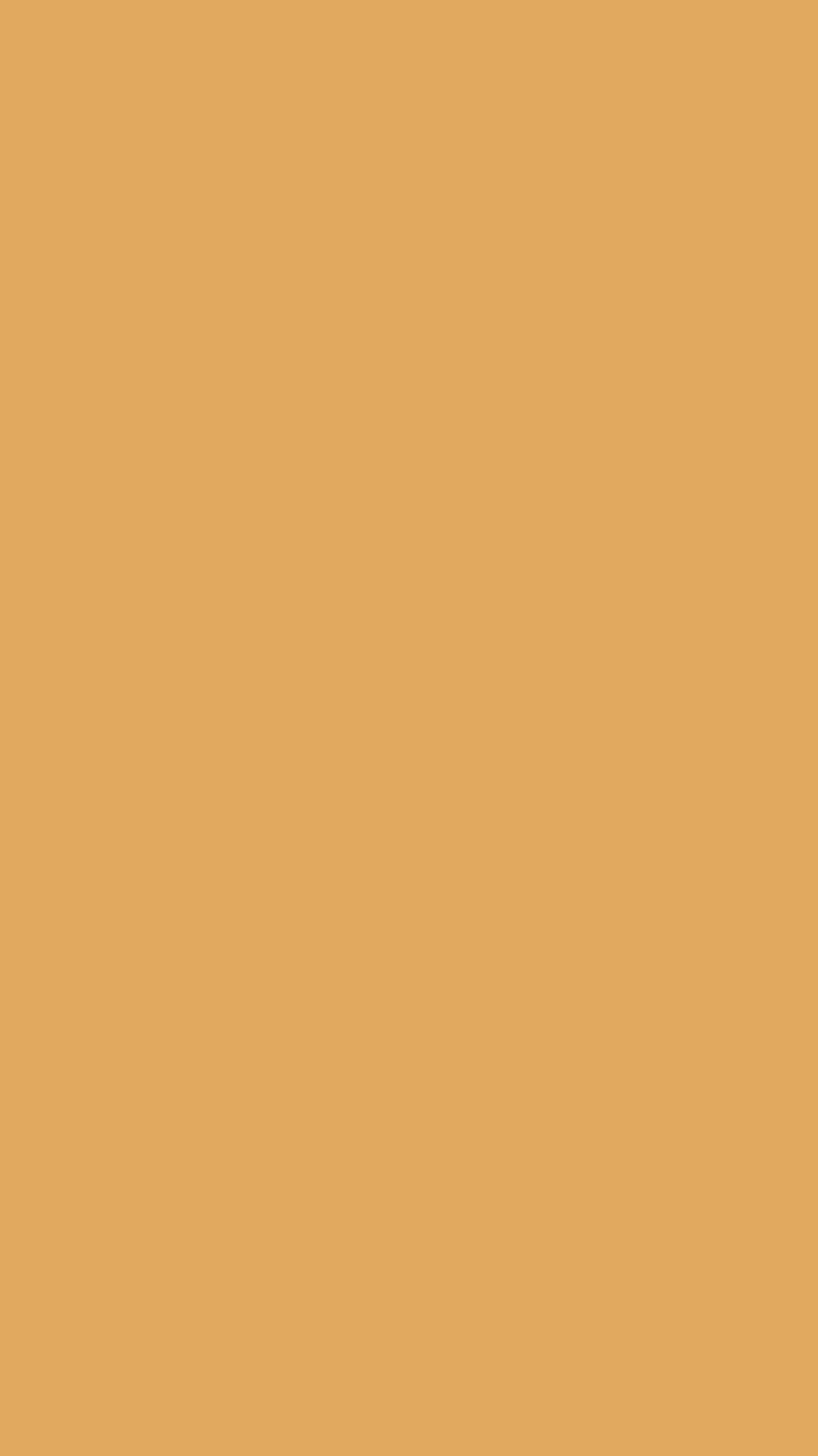 750x1334 Earth Yellow Solid Color Background