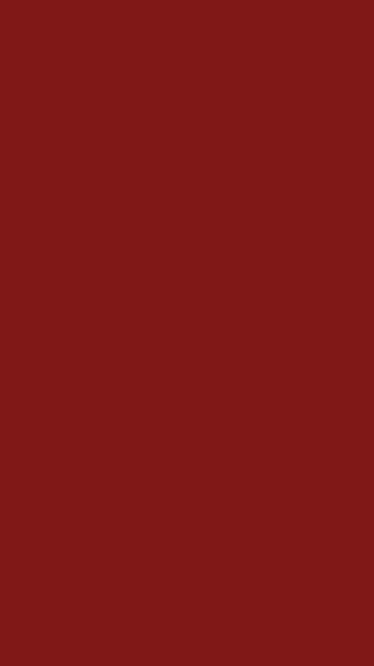 750x1334 Falu Red Solid Color Background