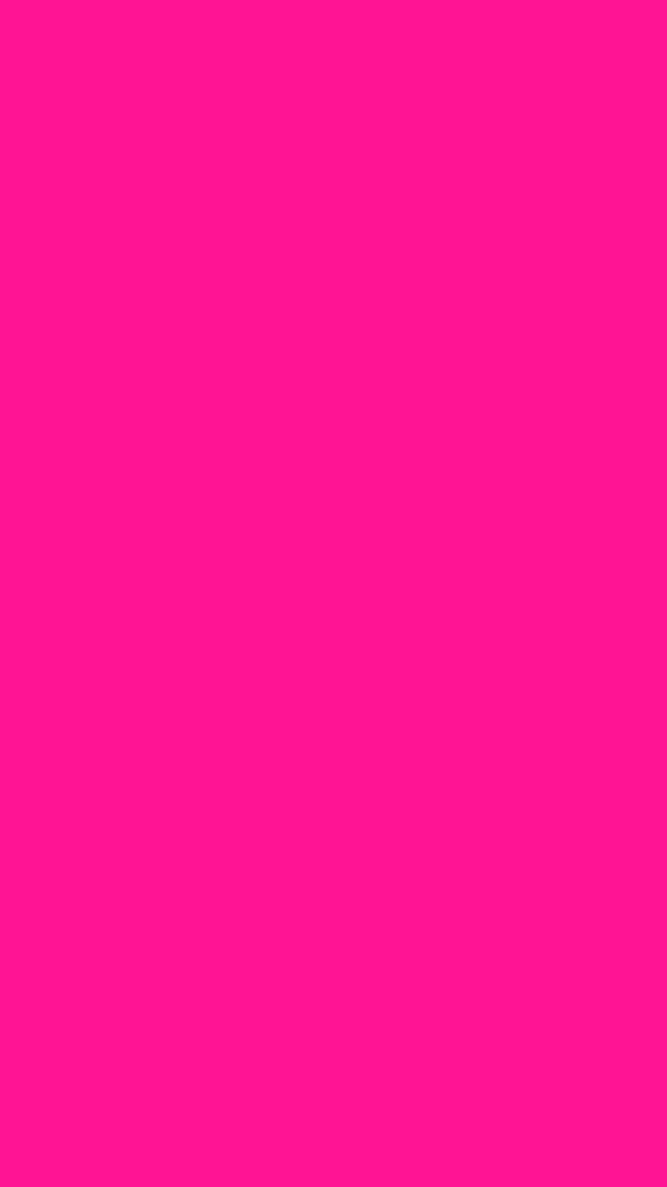 750x1334 Fluorescent Pink Solid Color Background