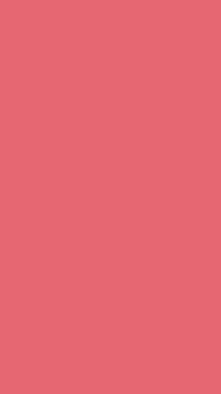 750x1334 Light Carmine Pink Solid Color Background