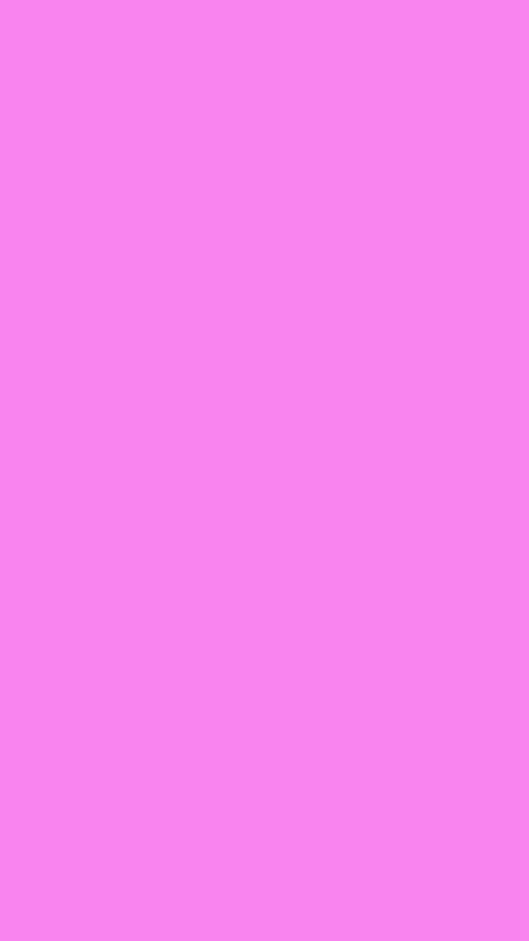 750x1334 Light Fuchsia Pink Solid Color Background