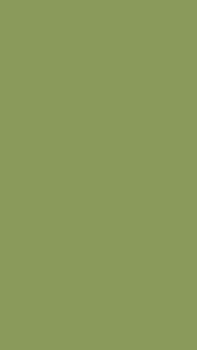 750x1334 Moss Green Solid Color Background
