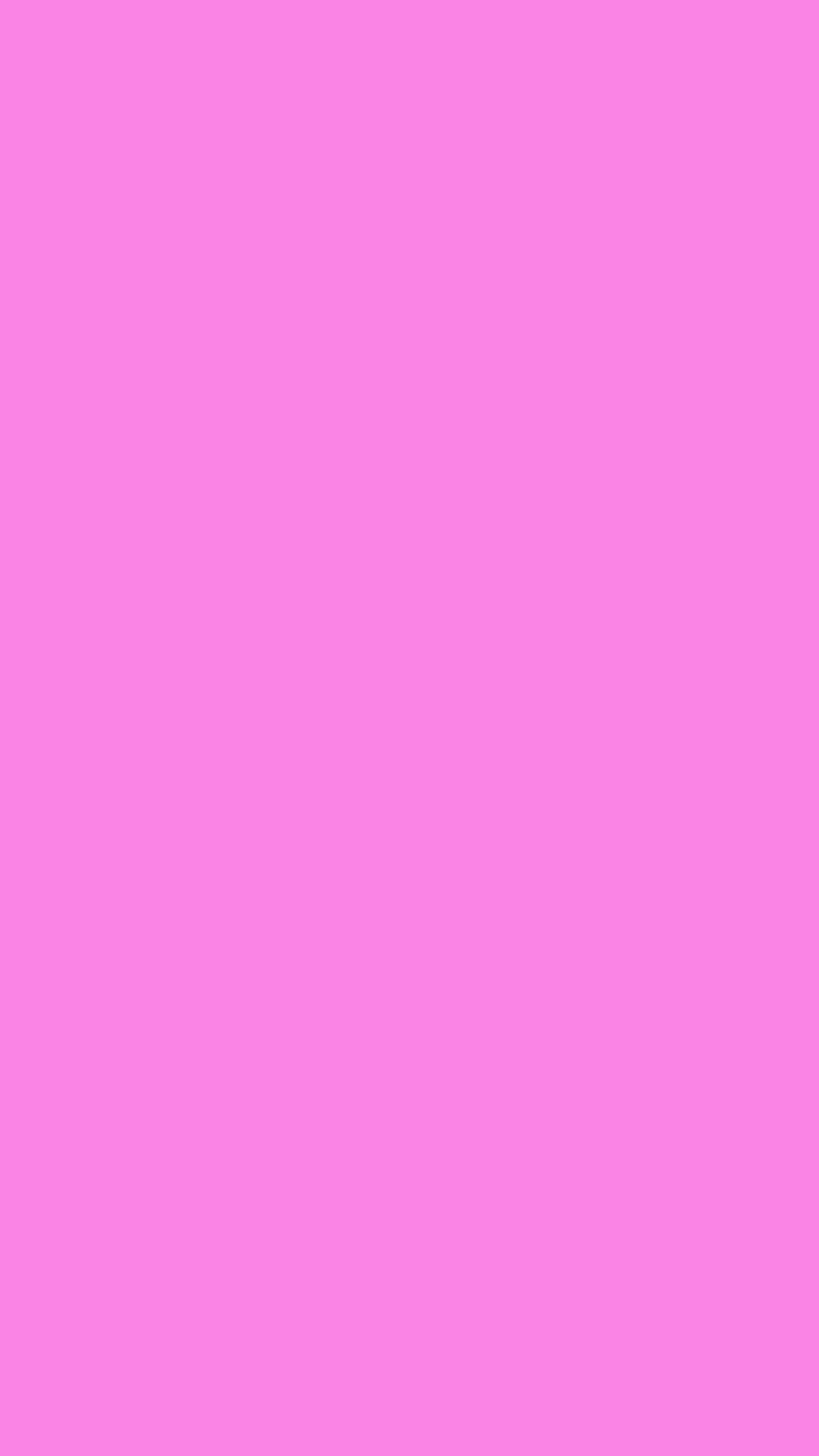 750x1334 Pale Magenta Solid Color Background