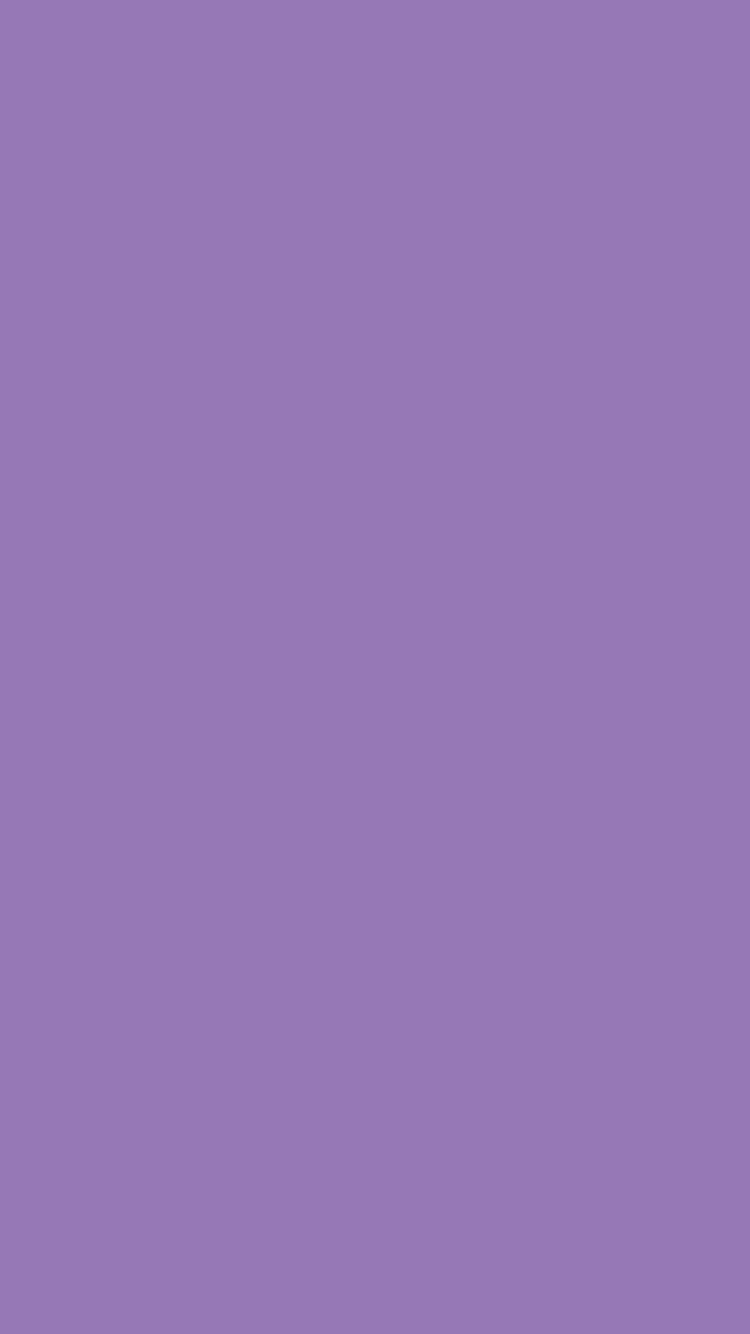 750x1334 Purple Mountain Majesty Solid Color Background