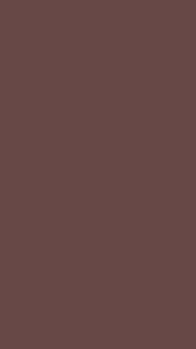 750x1334 Rose Ebony Solid Color Background